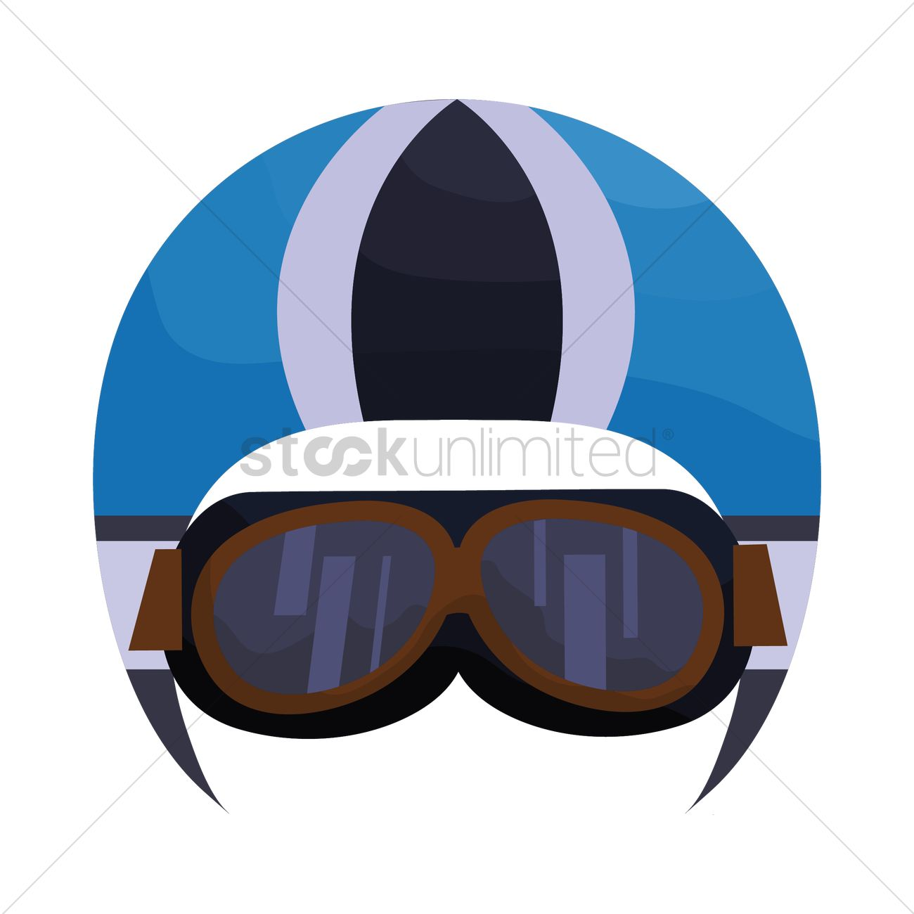 2ce60c79052 Motorcycle helmet with goggles vector image stockunlimited jpg 1300x1300 Motorcycle  goggles clipart