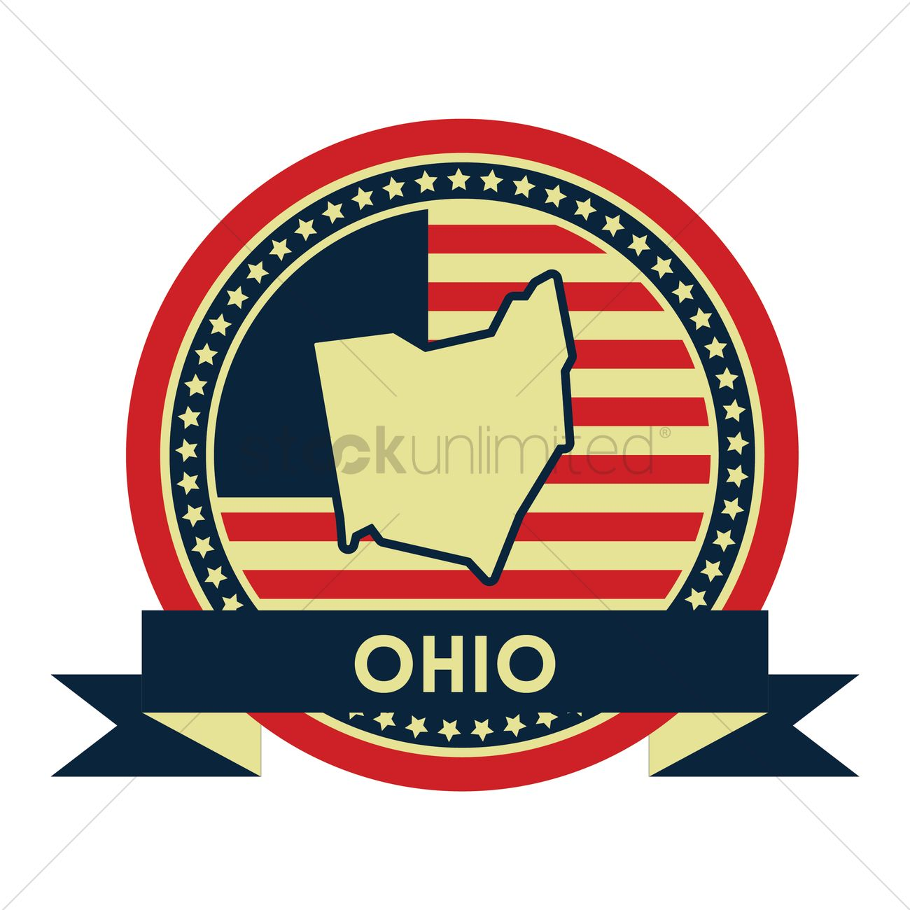 Free Ohio Map.Free Ohio Map Label Vector Image 1617923 Stockunlimited