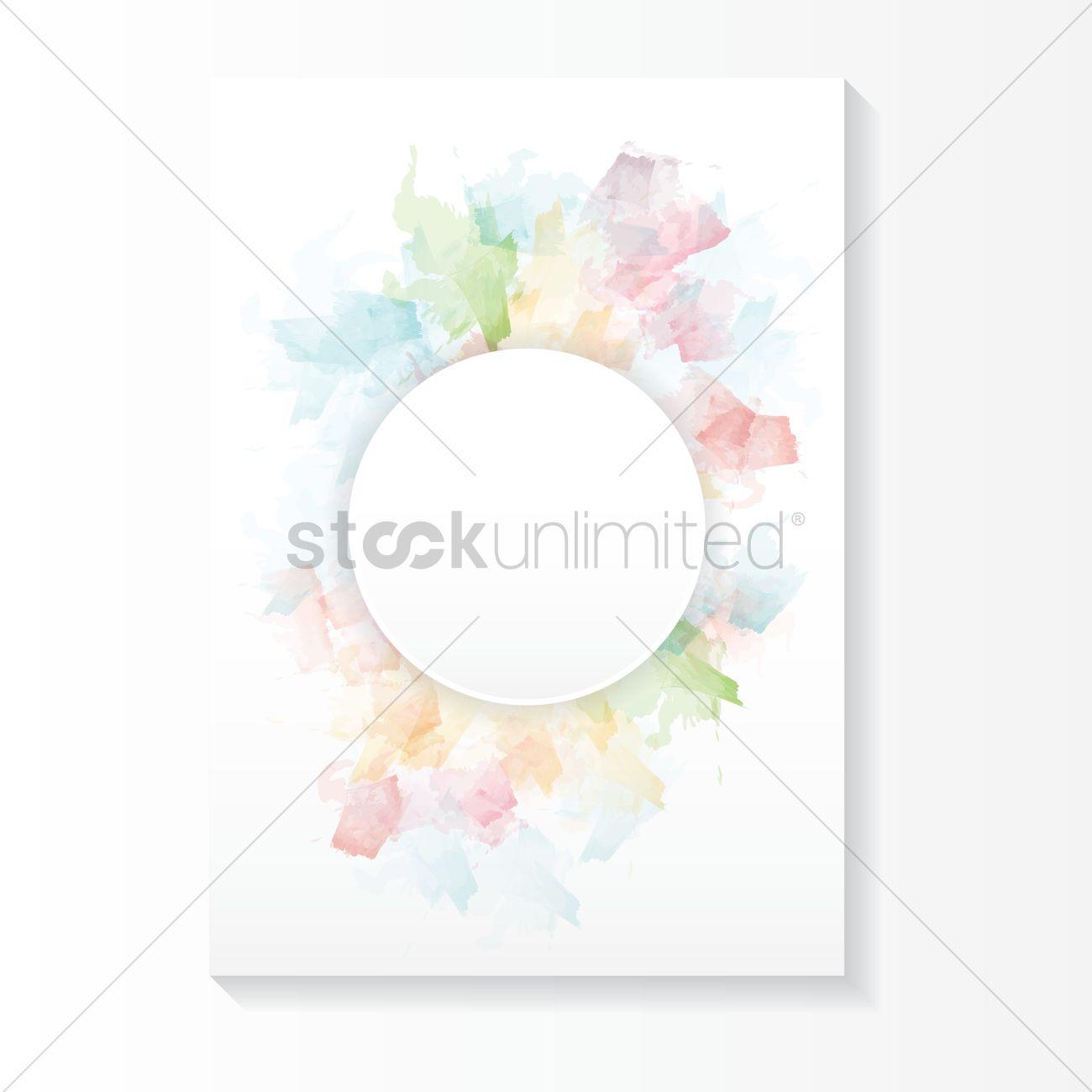 pastel color background design vector image 1979659