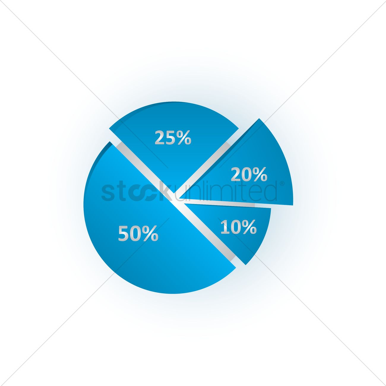 Pie chart vector image 1563787 stockunlimited pie chart vector graphic nvjuhfo Image collections