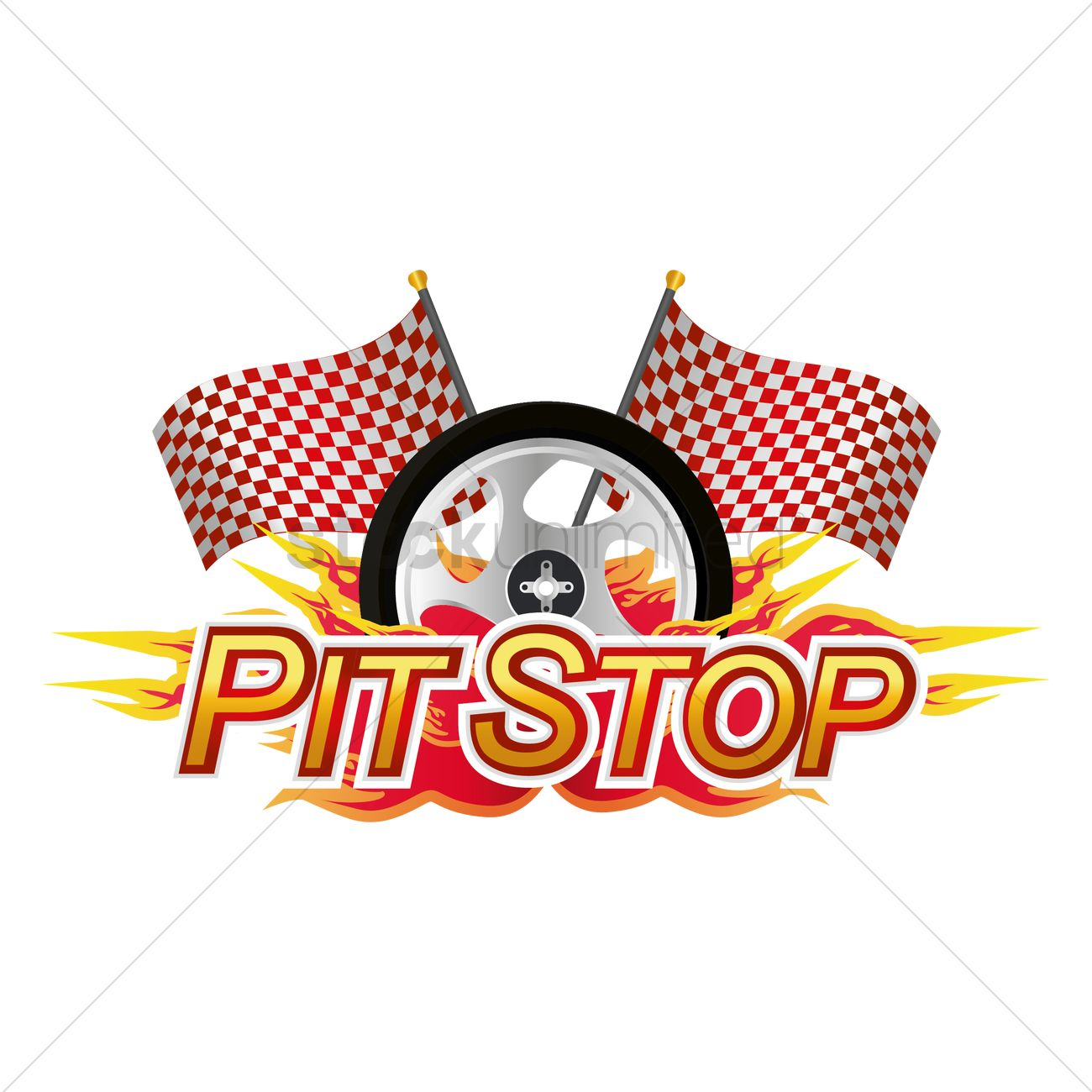 pit stop race sign vector image 1440871 stockunlimited race track clipart black and white race track clip art trophy w ribbon