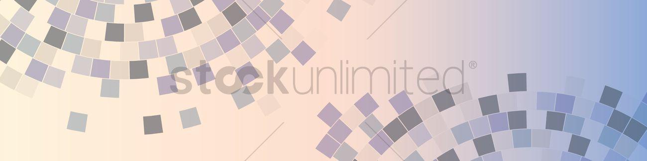 Pixel web banner design Vector Image - 1945951 | StockUnlimited