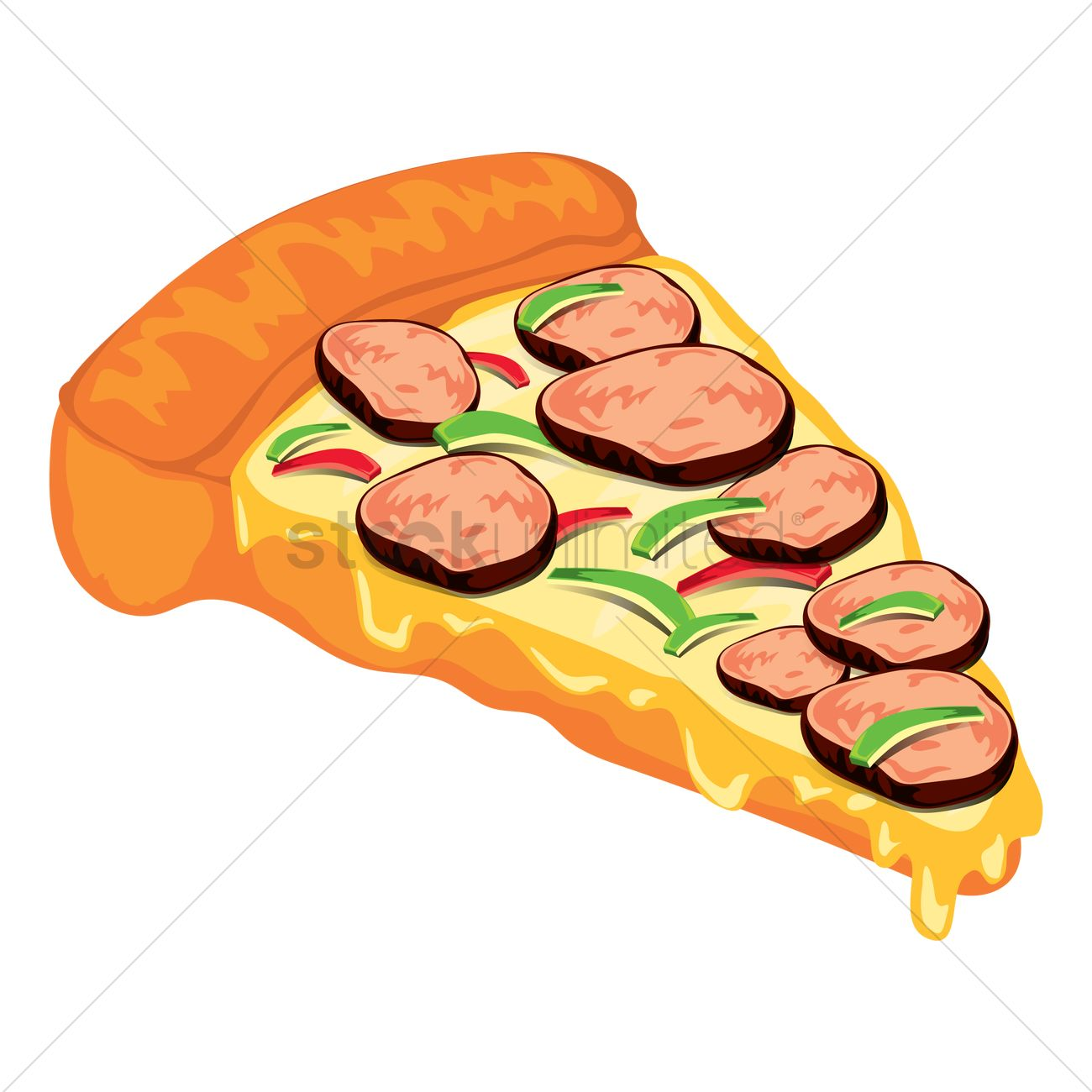 pizza slice vector image 1555863 stockunlimited rh stockunlimited com pizza slice outline vector pizza slice vector png