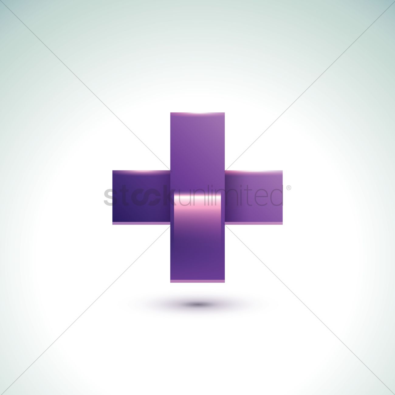 Plus Sign Vector Image 1630931 Stockunlimited