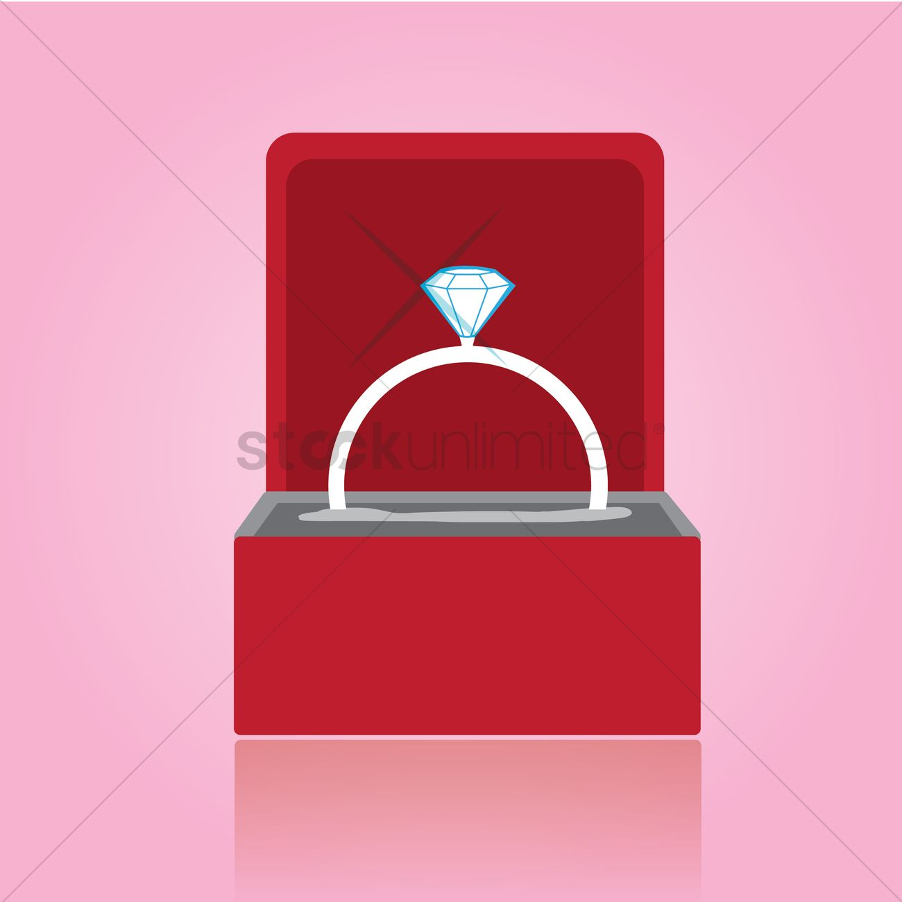 Proposal ring in a box Vector Image - 1457255 | StockUnlimited