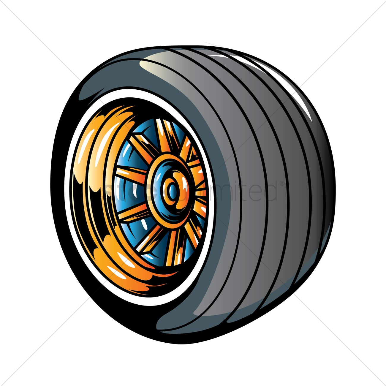 Racing tire Vector Image - 1463911 | StockUnlimited for Racing Tire Vector  45jwn