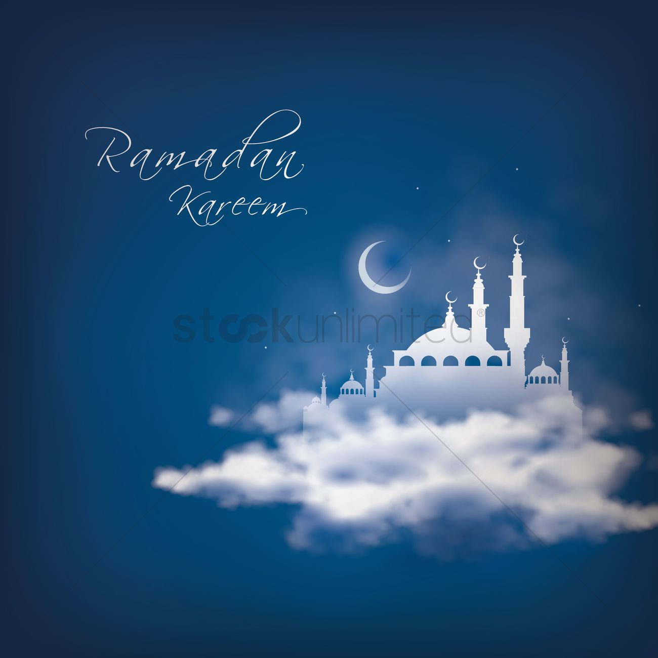Ramadan Kareem Greeting Vector Image 1826927 Stockunlimited
