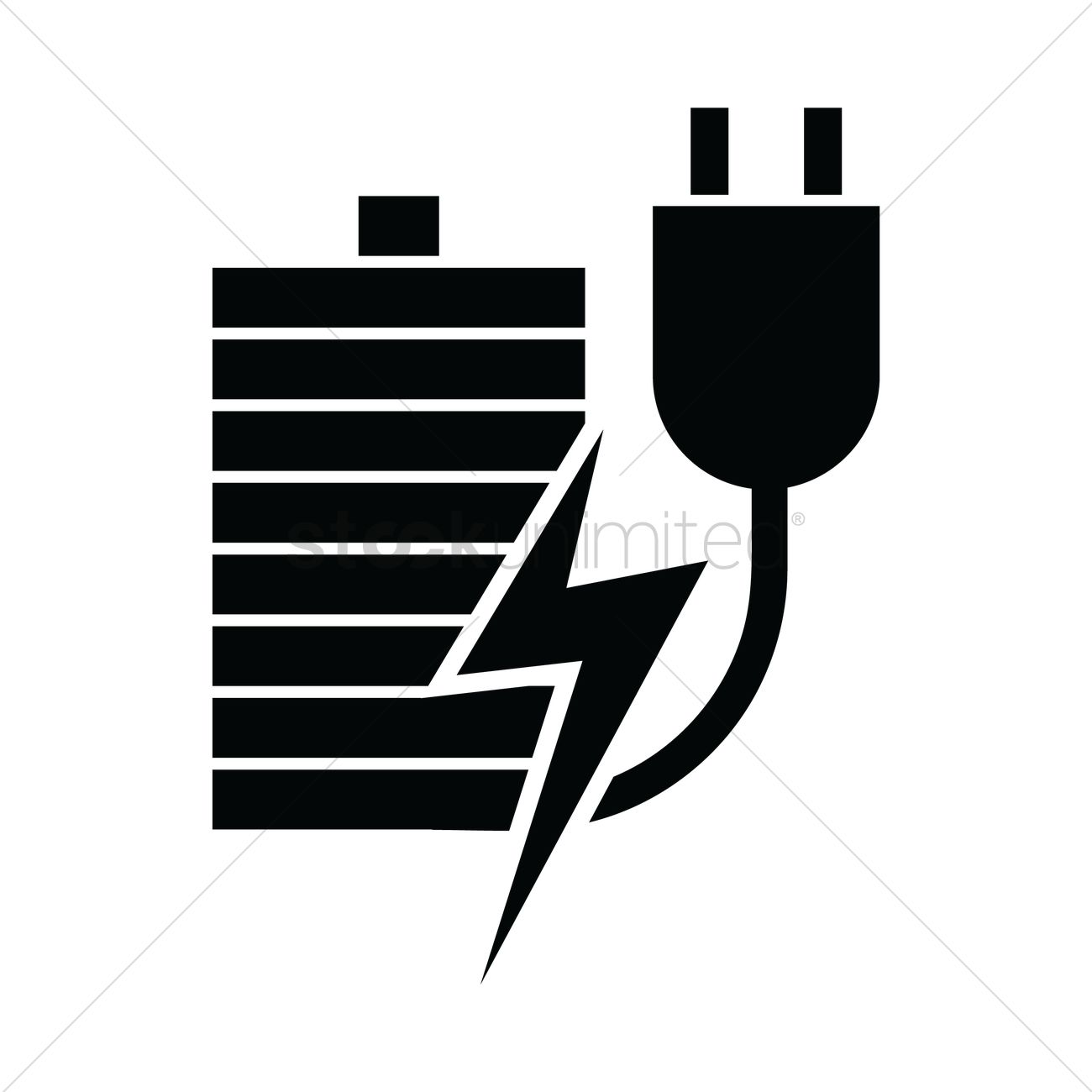 rechargeable battery vector image 2034367 stockunlimited rechargeable battery vector image