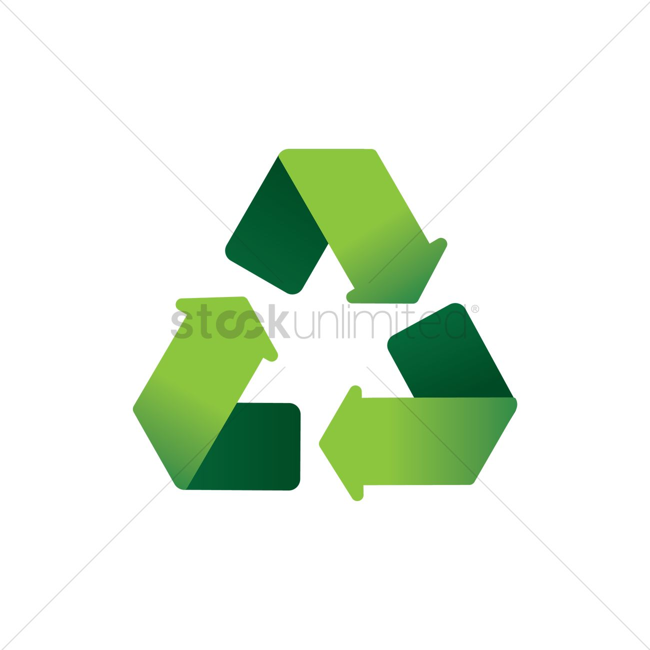 Recycle Symbol Vector Image 1976471 Stockunlimited