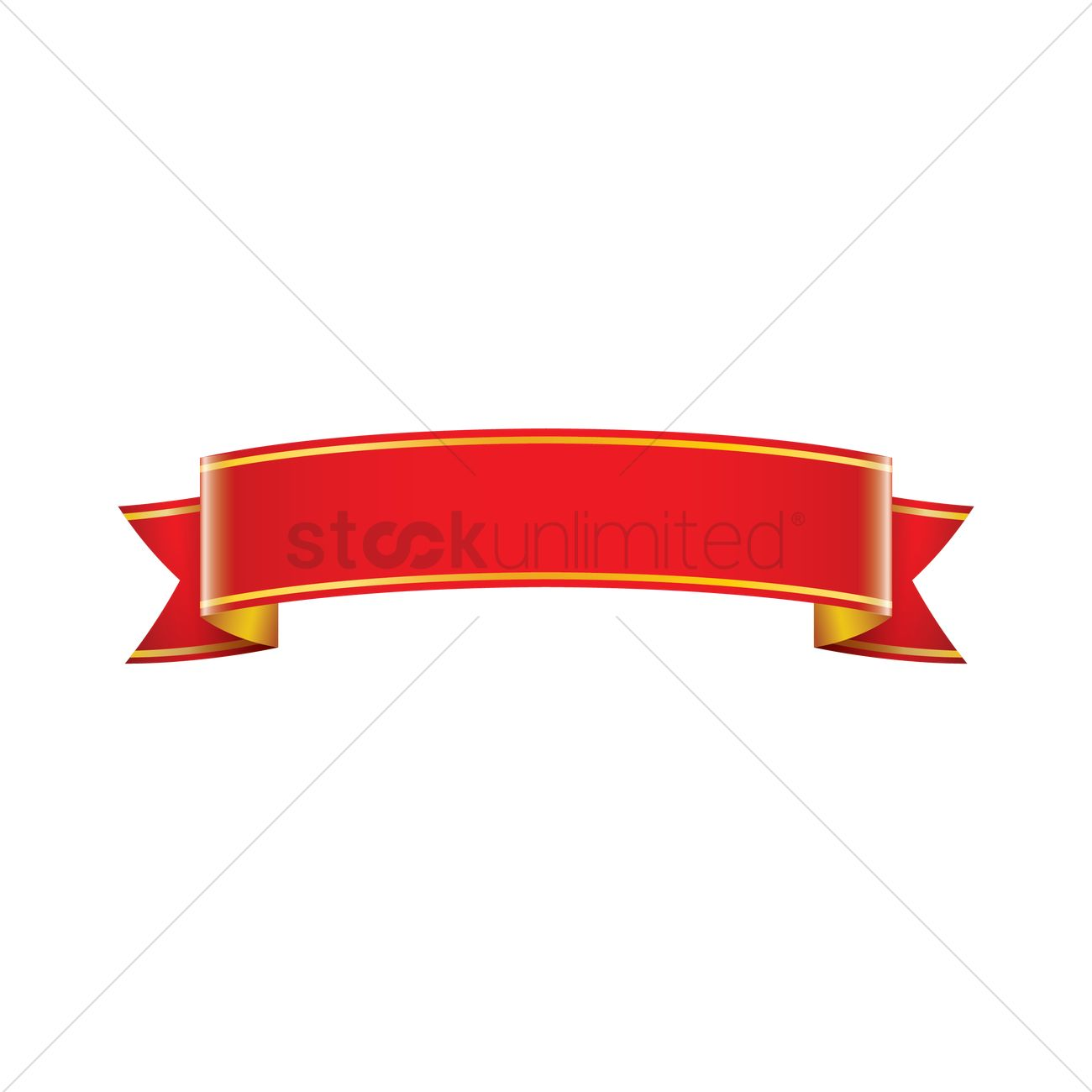 Graphic design ribbon