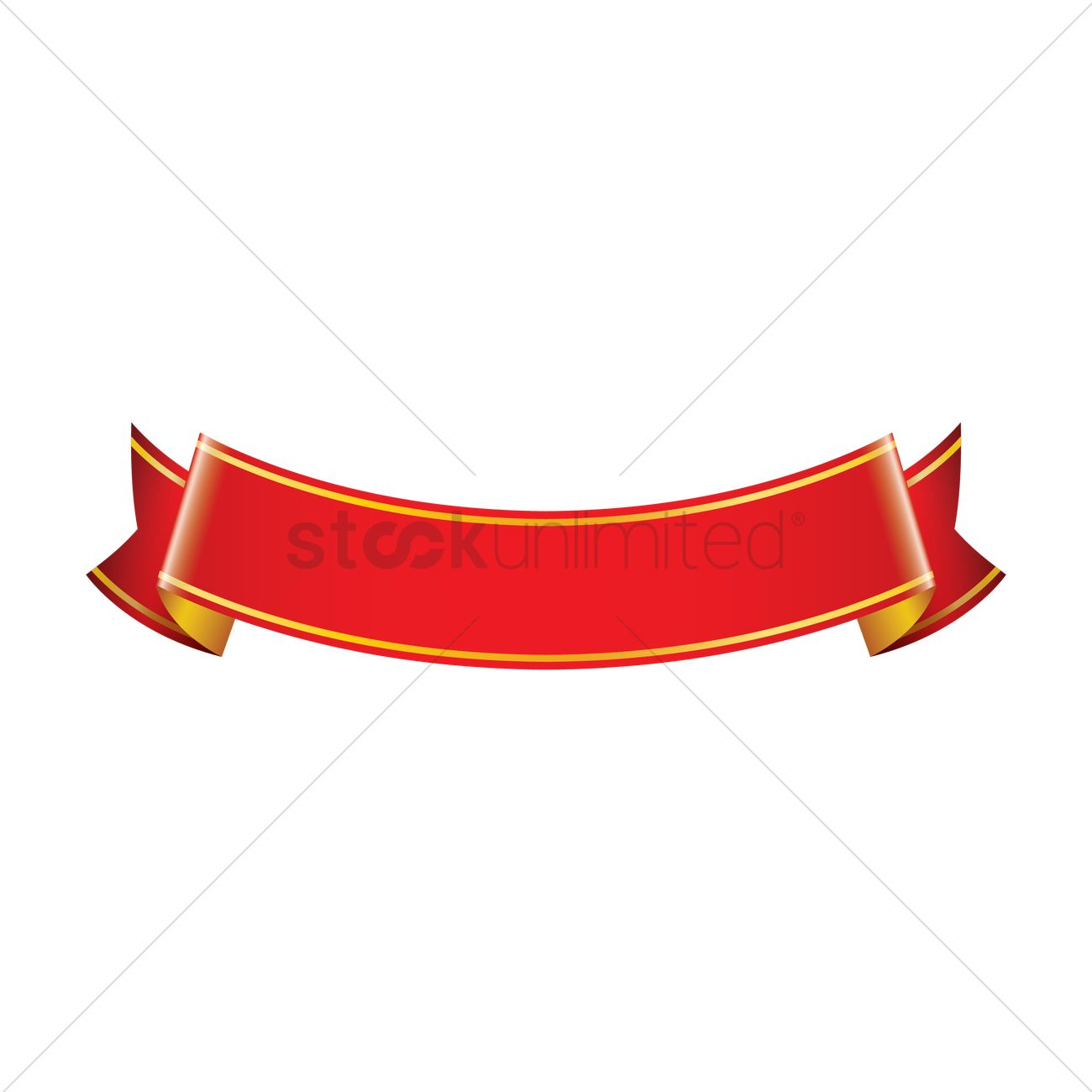 red ribbon banner design vector image 1987331 stockunlimited