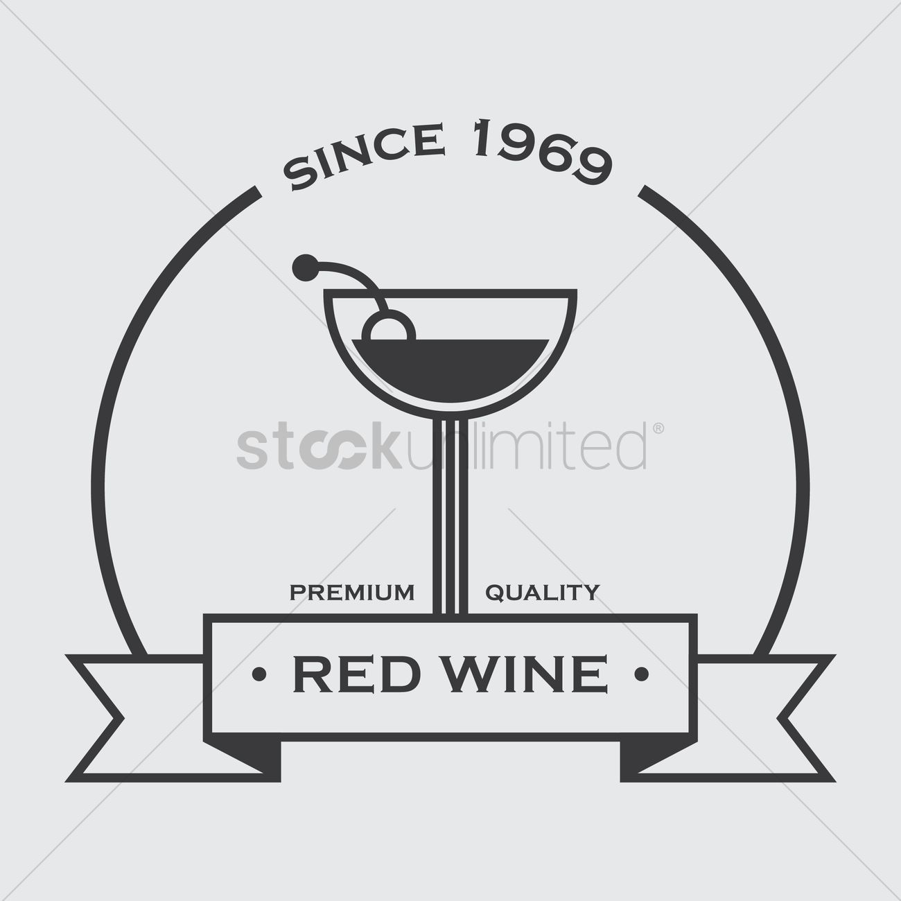 Red Wine Banner Vector Image 1517091 Stockunlimited