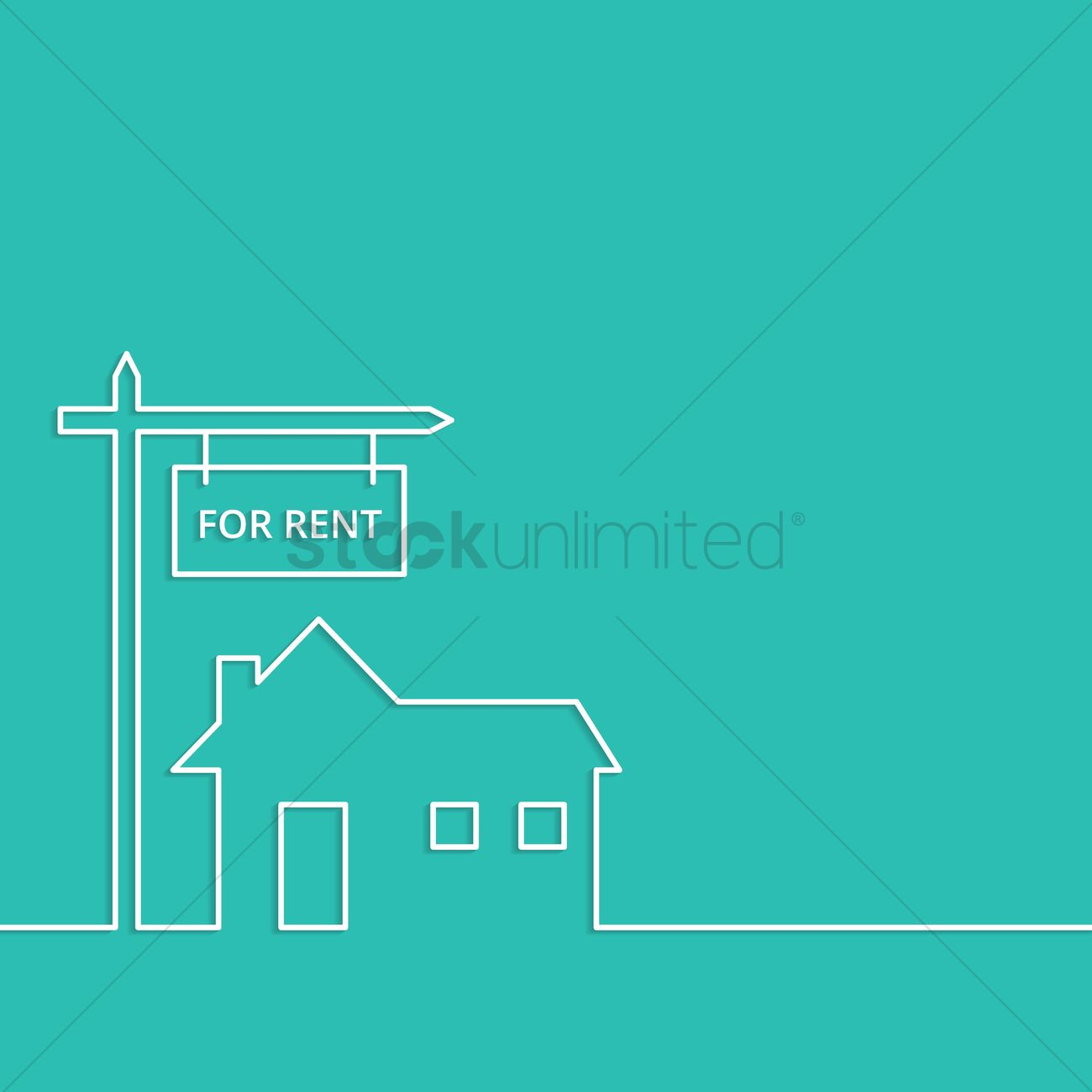 Rental Advertisement Template Vector Image StockUnlimited - For rent advertisement template