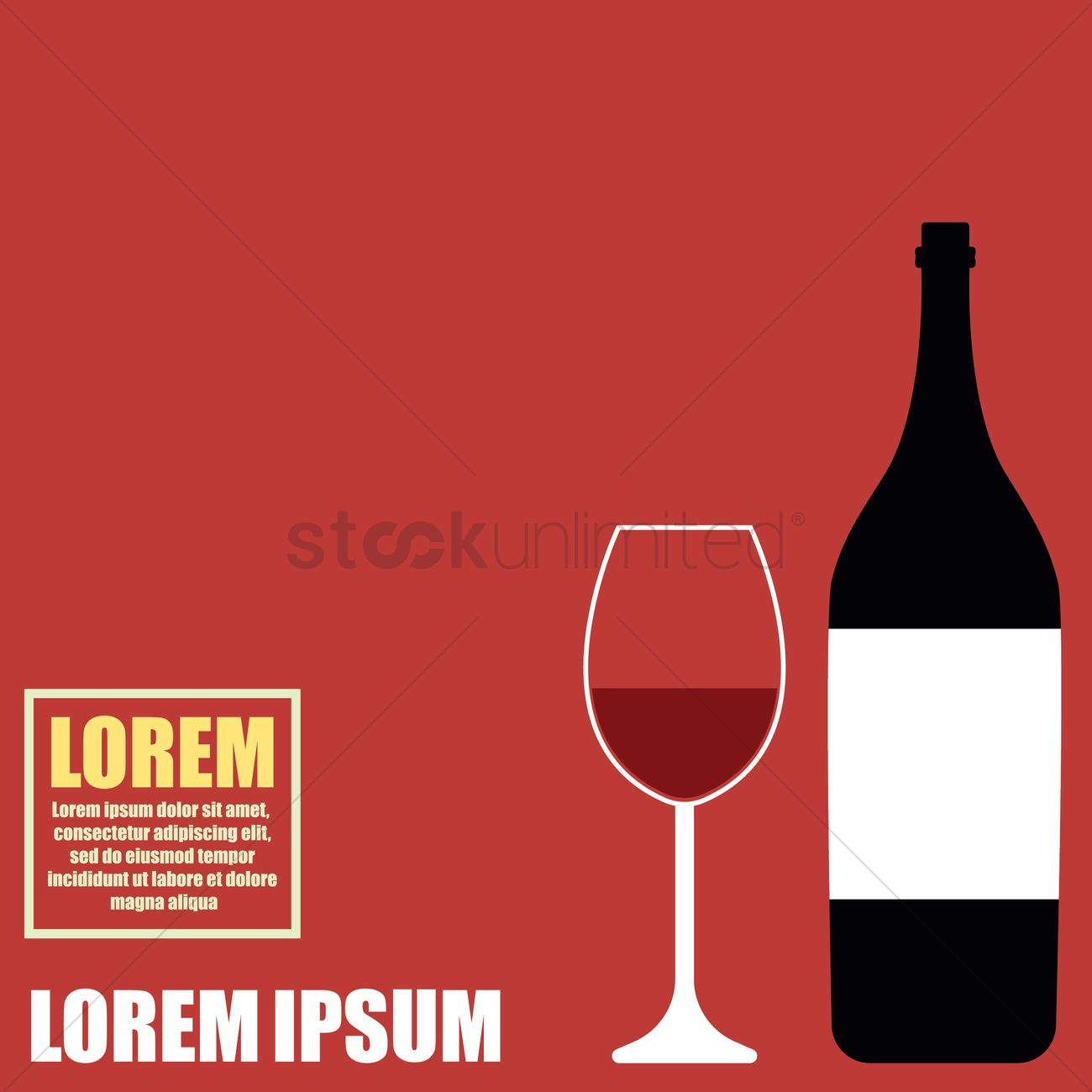 Restaurant Wallpaper Vector Graphic