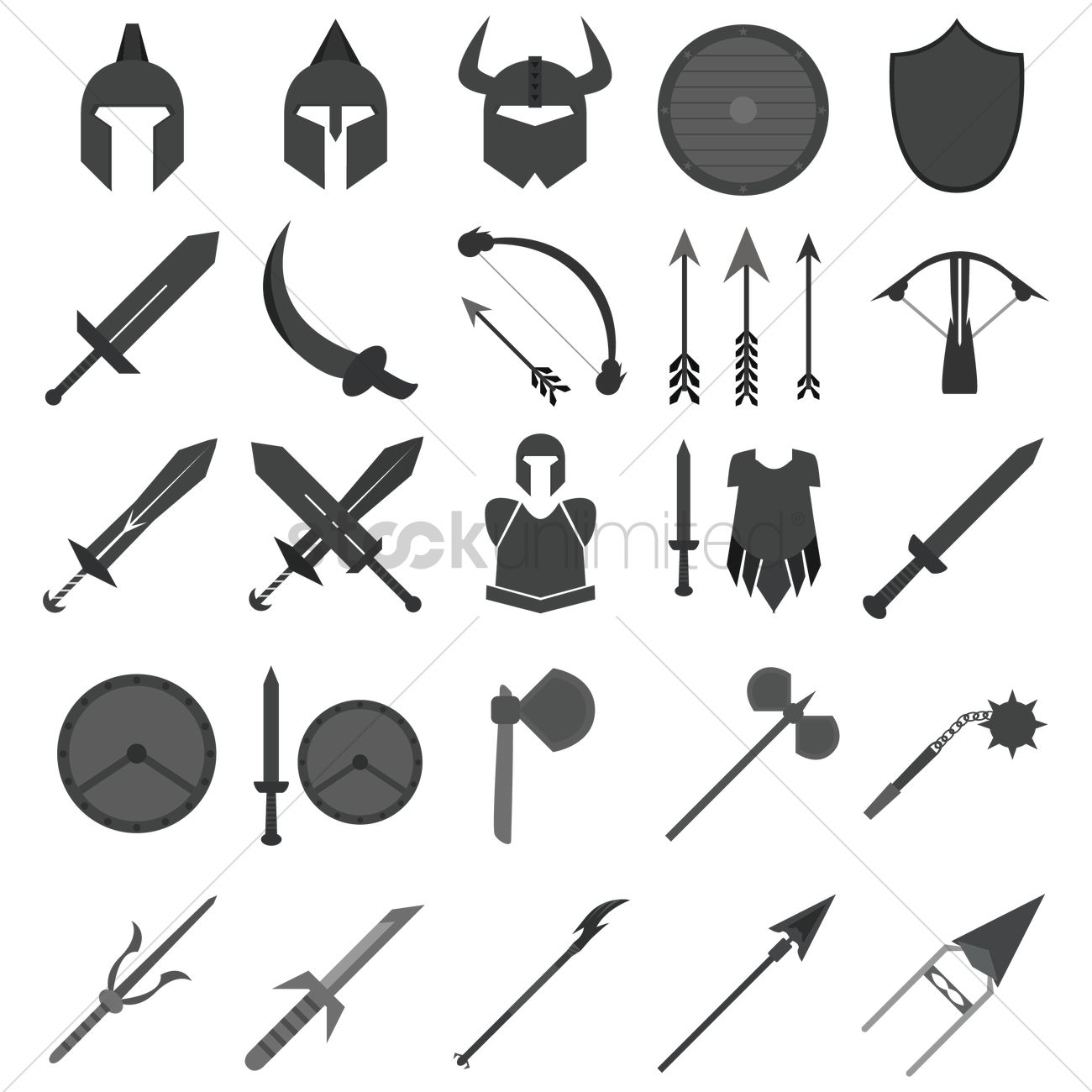 Set of fantasy icons Vector Image - 1533139 | StockUnlimited