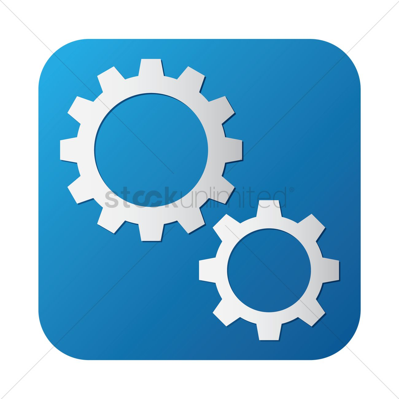 Settings icon Vector Image - 1629291 | StockUnlimited