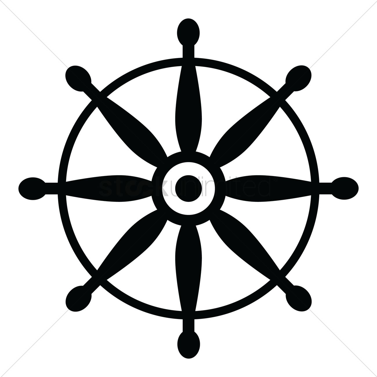 ship steering wheel vector image 1522155 stockunlimited ship steering wheel vector image