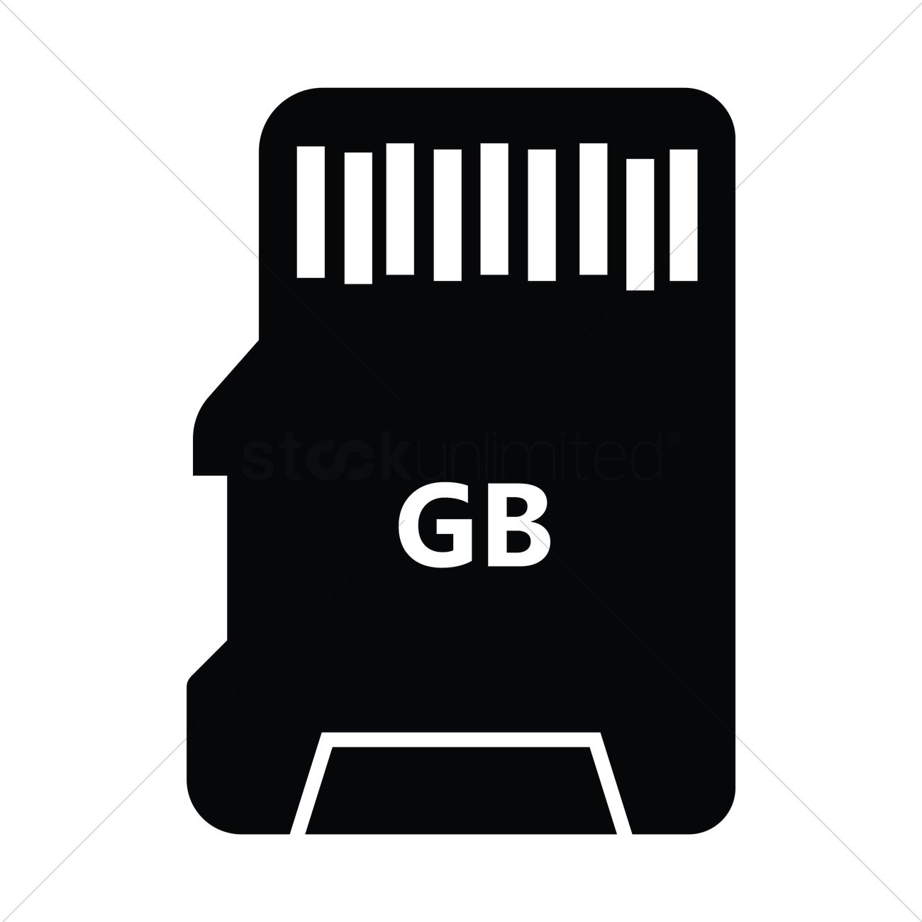 silhouette of a micro sd card vector image 1936559 stockunlimited silhouette of a micro sd card vector