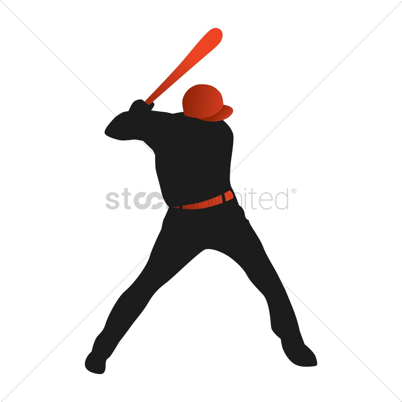 free silhouette of baseball player vector image 1530855 rh stockunlimited com basketball player vectors baseball player vector art