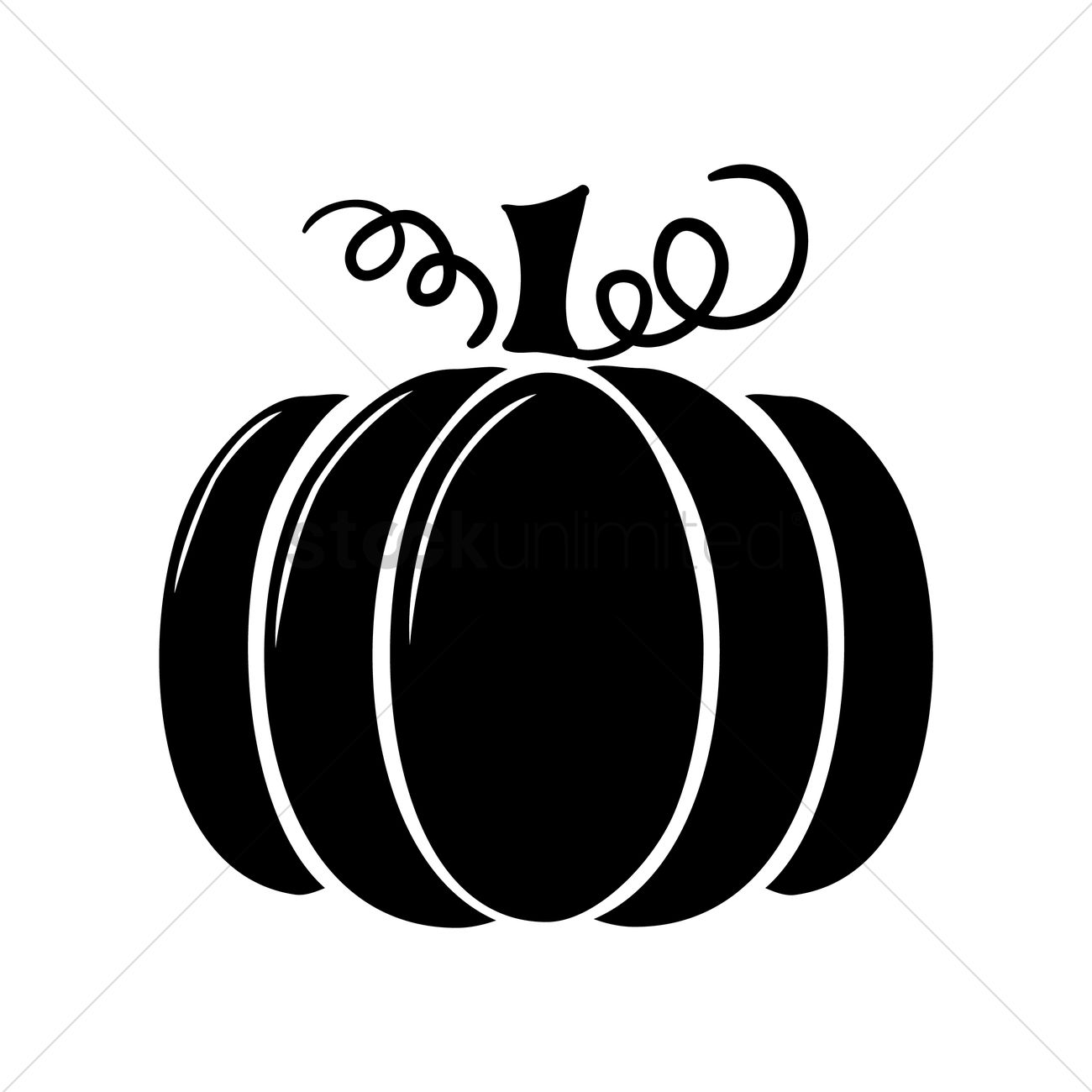 silhouette of pumpkin vector image 1447191 stockunlimited rh stockunlimited com Halloween Pumpkin Vector Halloween Pumpkin Vector