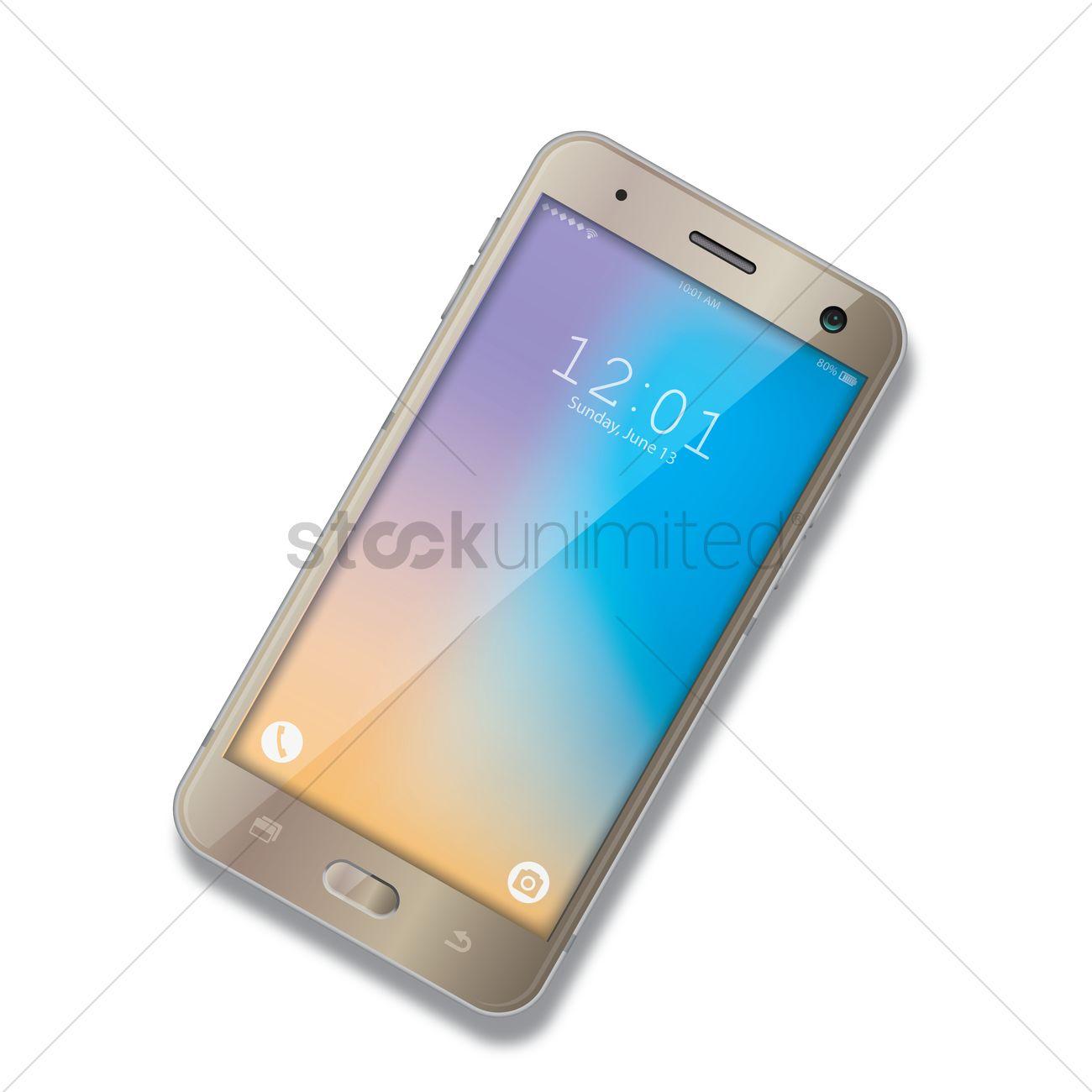 Smartphone Vector Image - 1625455 | StockUnlimited