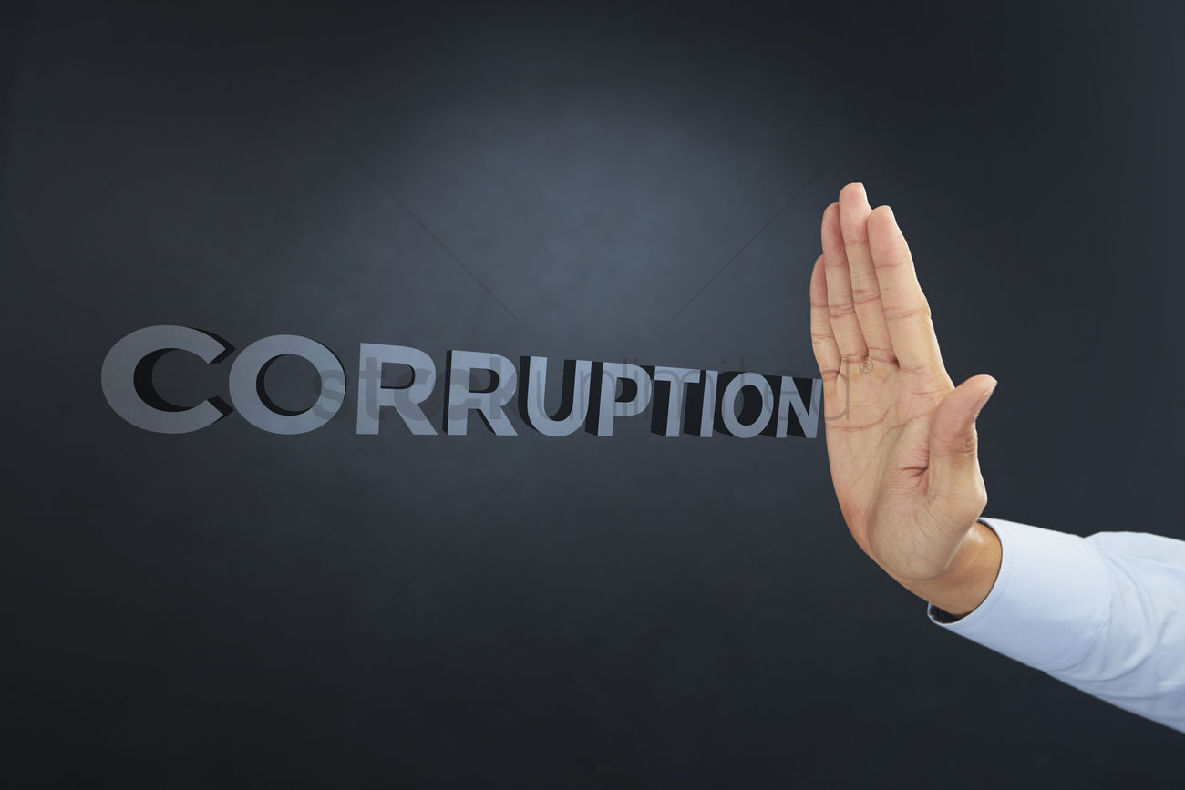 Stop corruption hand gesture Stock Photo - 1934855 | StockUnlimited