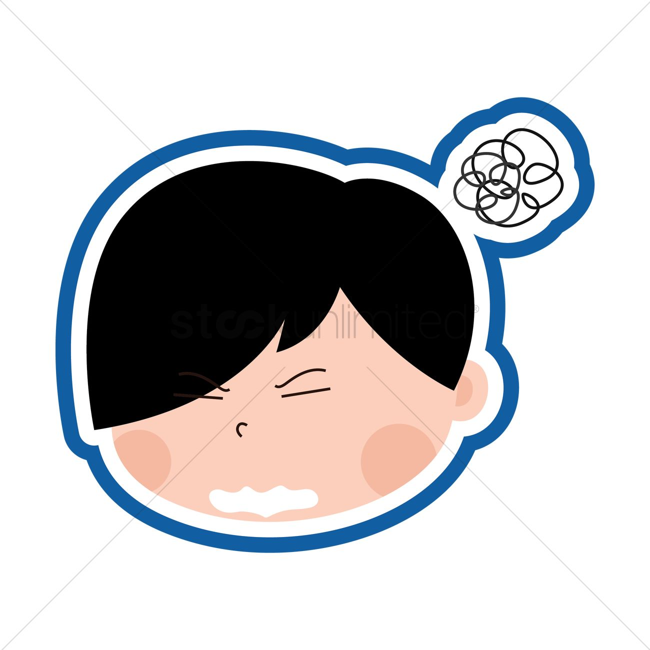 Stressed Emoticon