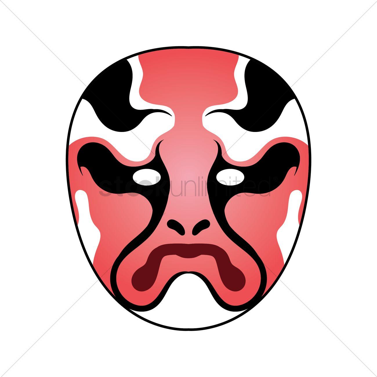 Taiwanese Opera Mask Design
