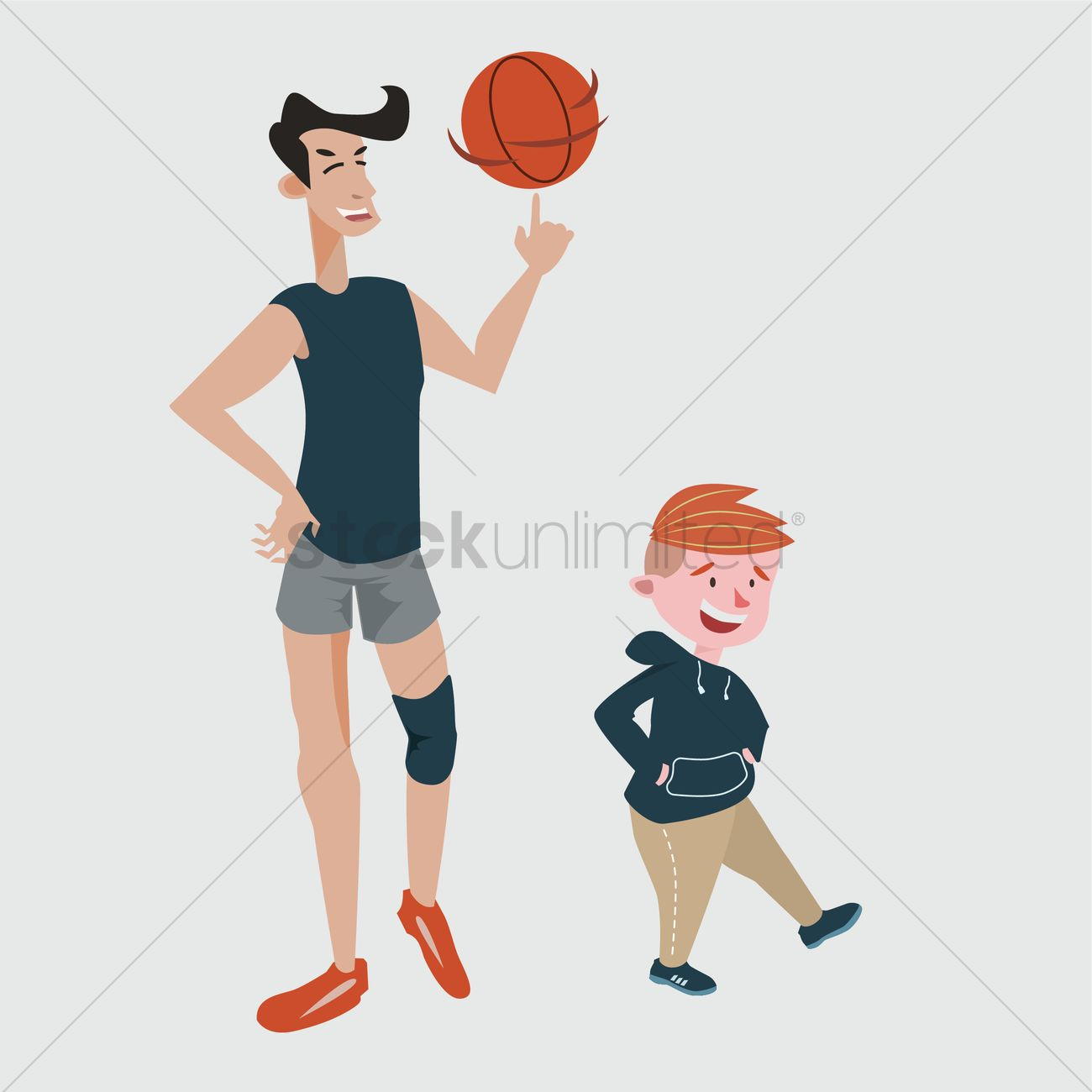 Tall and short comparison Vector Image - 2022407 ...