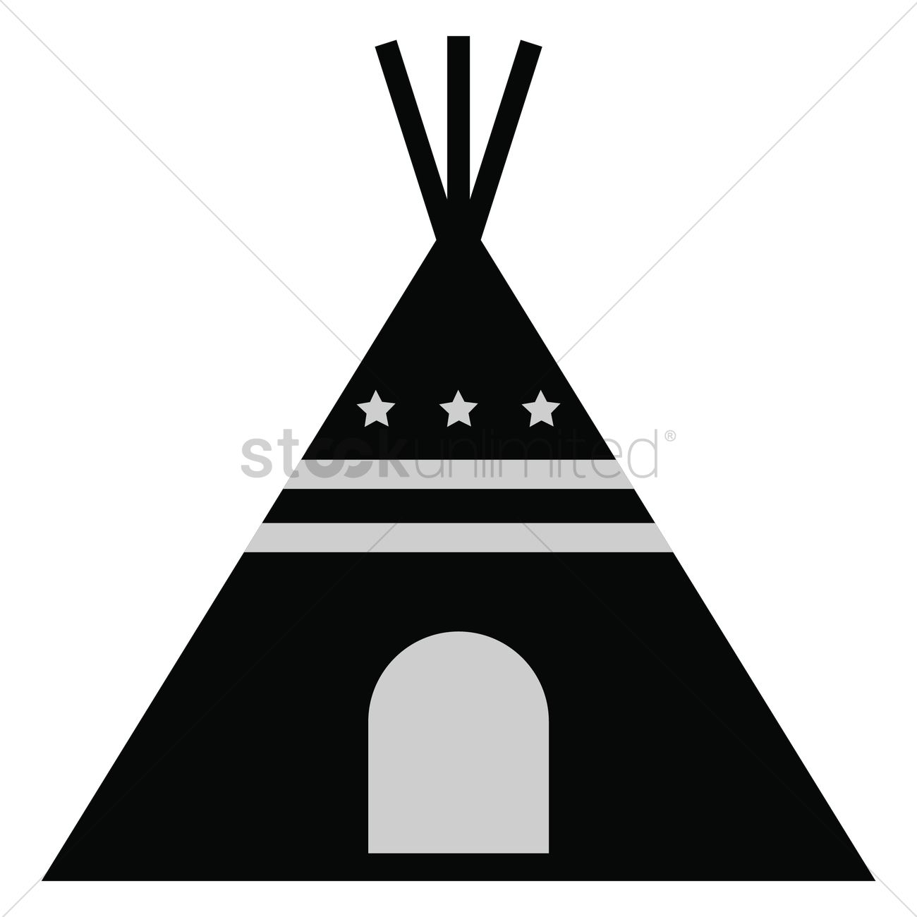 teepee tent vector image 1558083 stockunlimited rh stockunlimited com teepee tent clip art indian teepee clipart