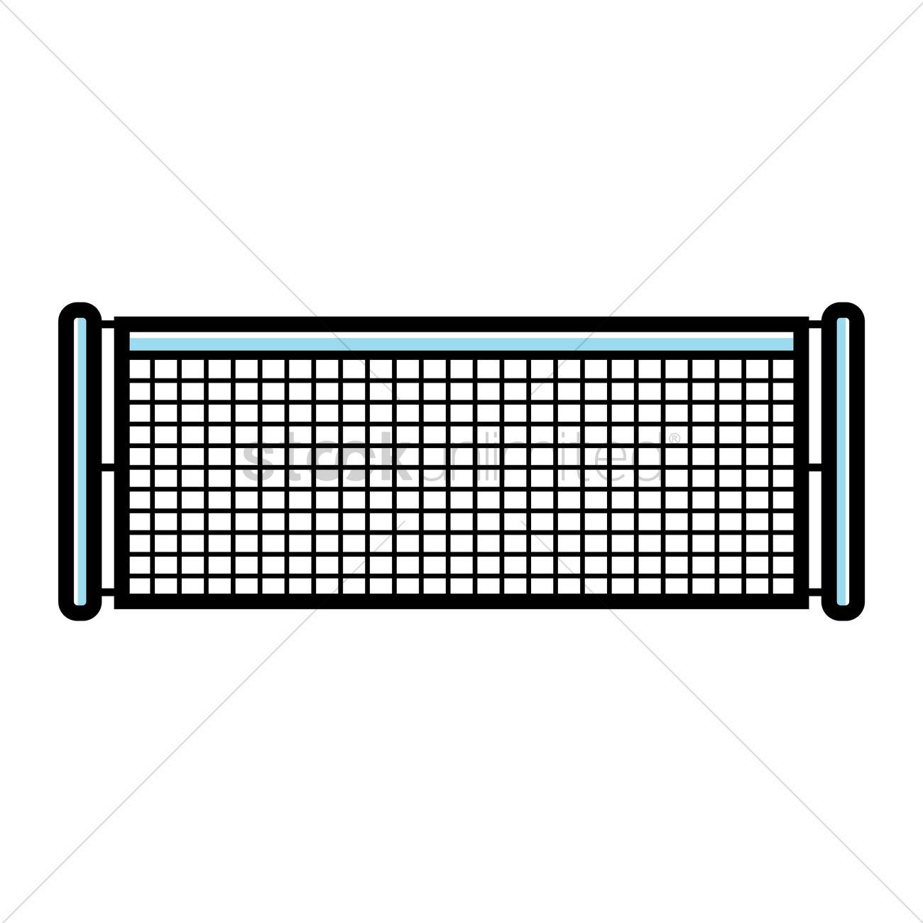 Tennis net Vector Image - 1979563 | StockUnlimited Tennis Net Vector