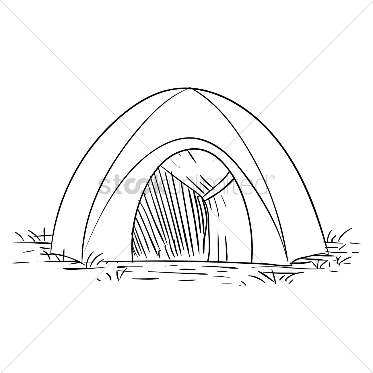 Free tent vector graphic  sc 1 st  StockUnlimited & Free Tent Vector Image - 1567311 | StockUnlimited