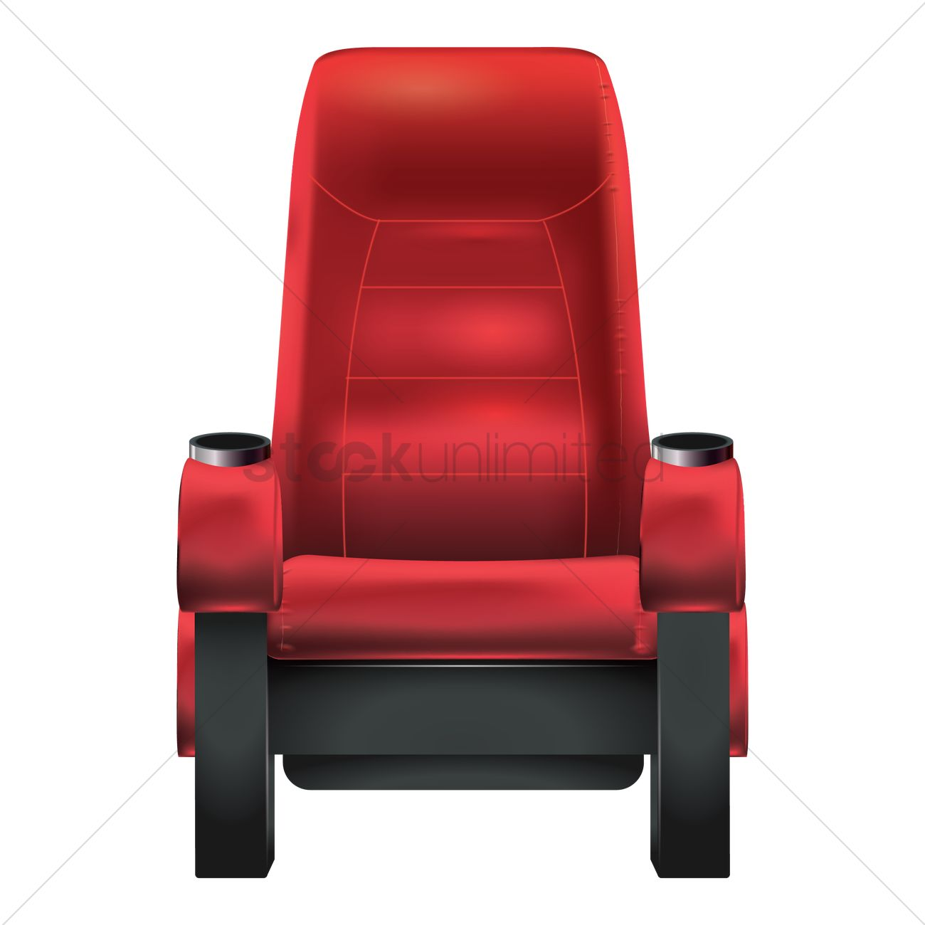 theater chair vector graphic  sc 1 st  StockUnlimited & Theater chair Vector Image - 1805947 | StockUnlimited