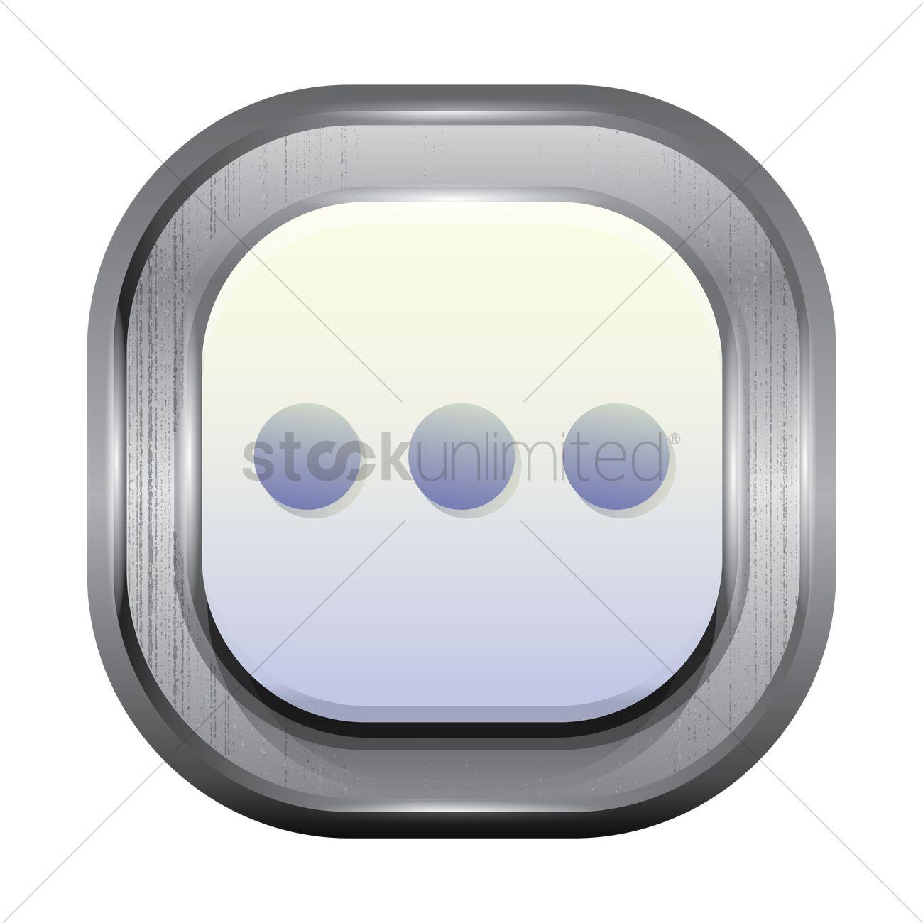 Three dots menu icon vector image 1941243 stockunlimited three dots menu icon vector graphic biocorpaavc