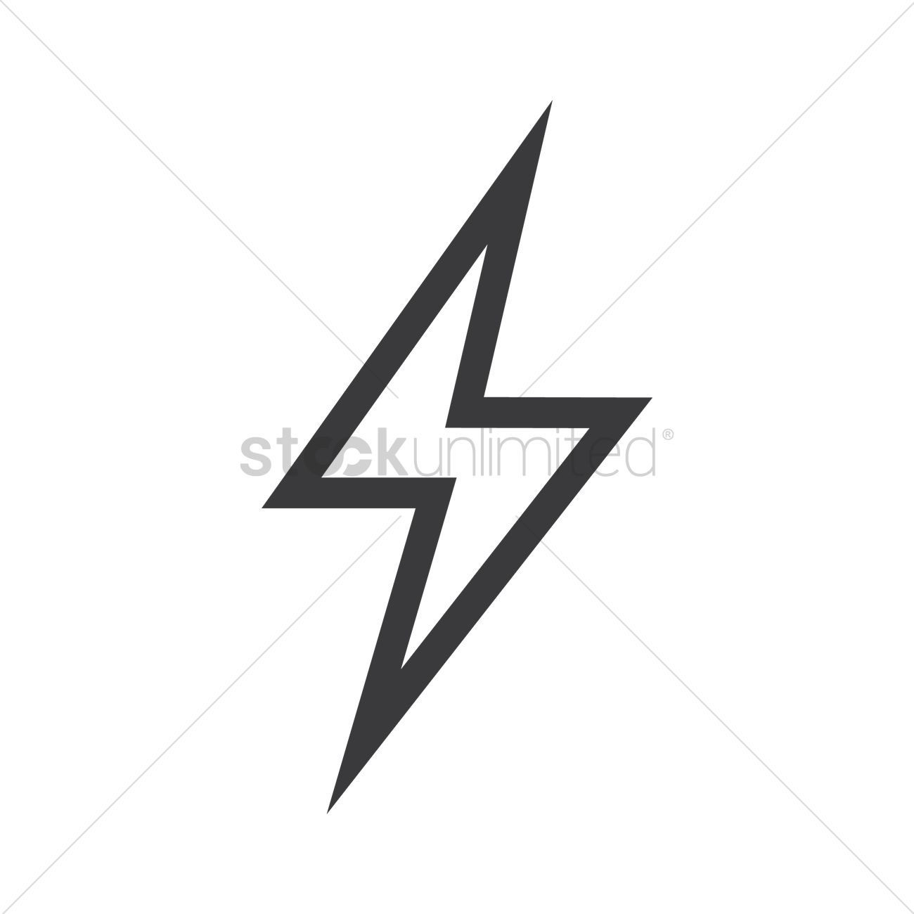 free thunder vector image 1280171 stockunlimited free thunder vector image 1280171