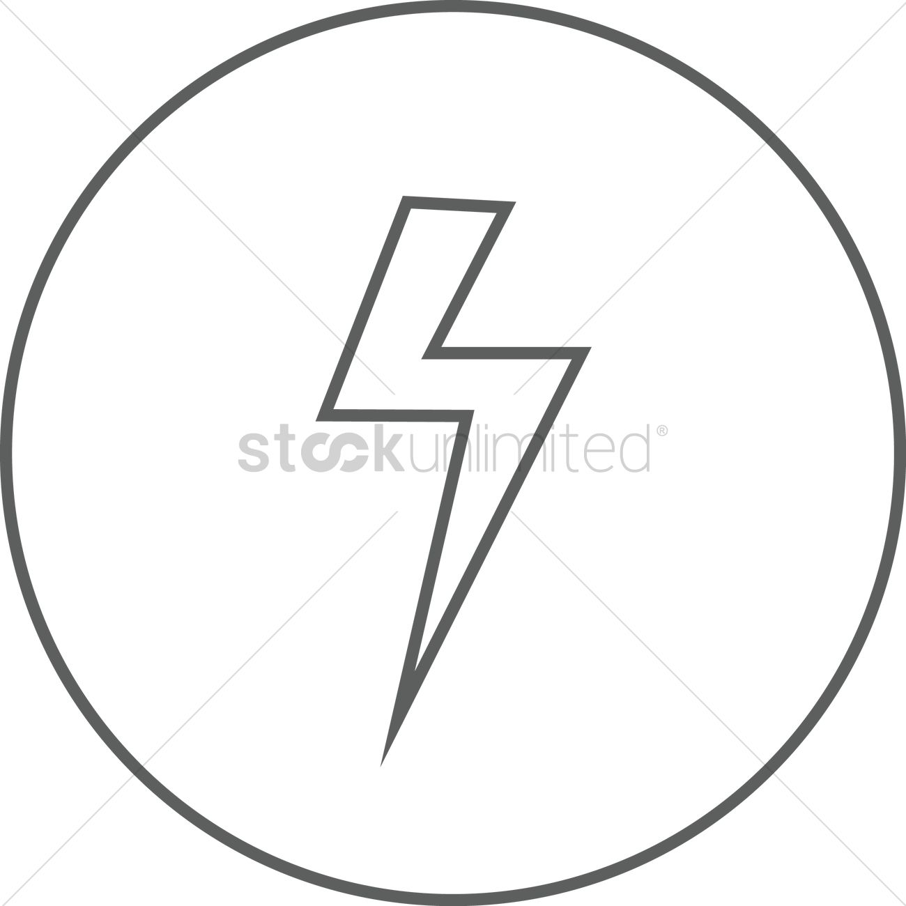 thunder vector image 1370551 stockunlimited stockunlimited