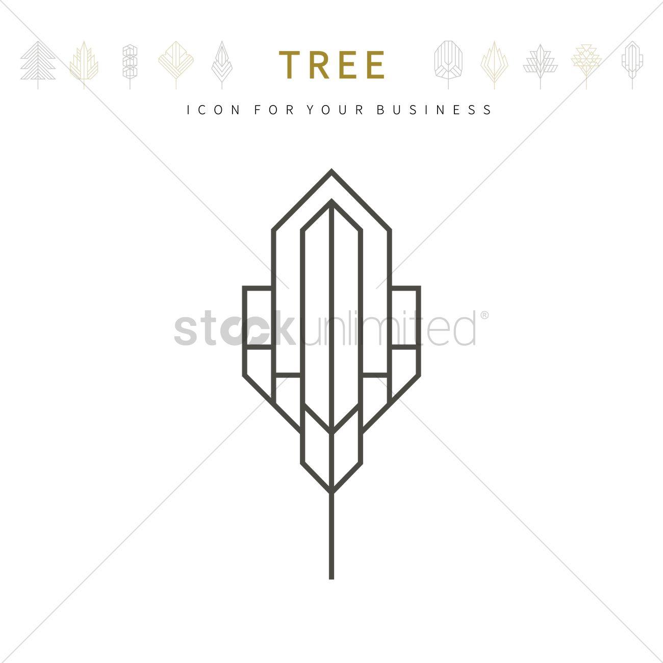 Tree template design vector image 1979903 stockunlimited tree template design vector graphic cheaphphosting Gallery