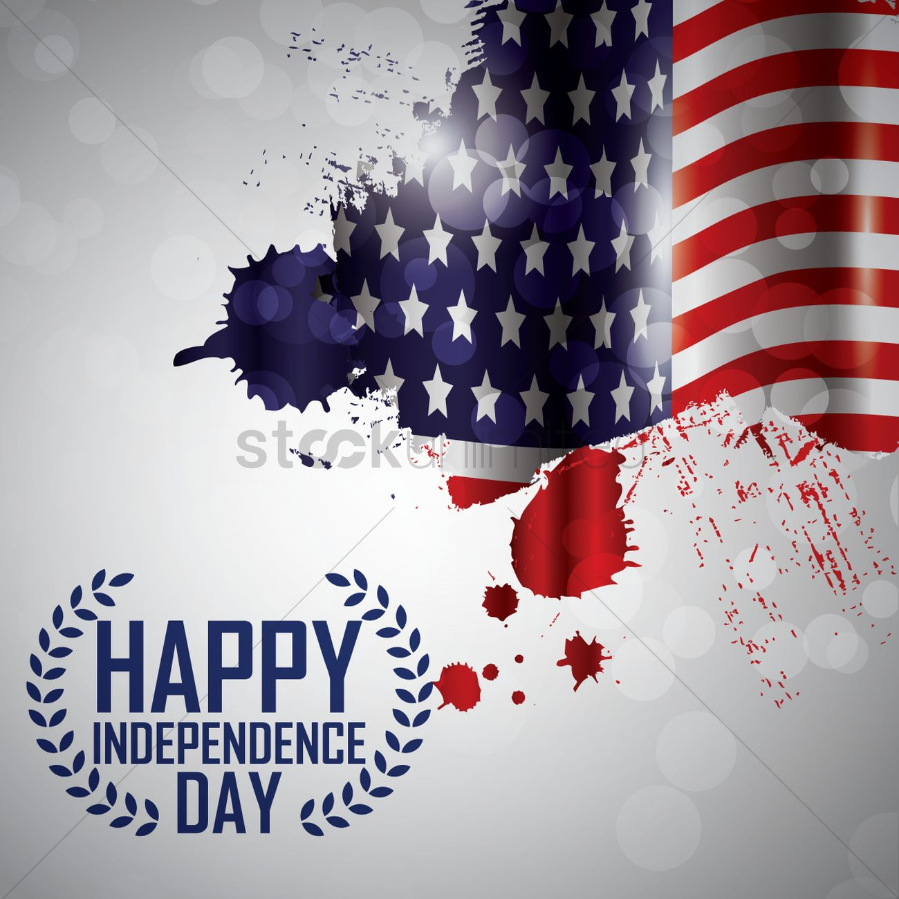 Us independence day Vector Image - 1557895 | StockUnlimited