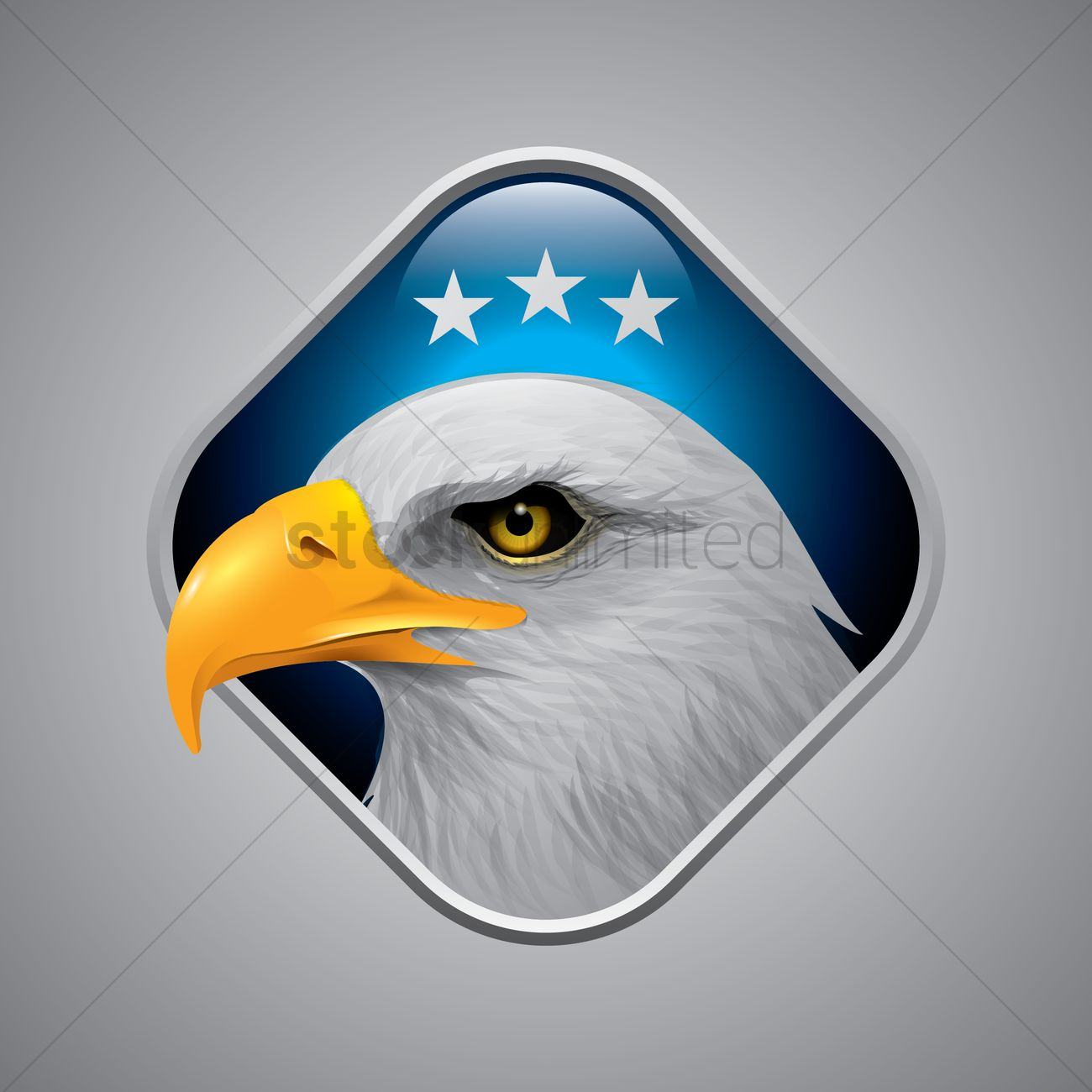 Usa Eagle Symbol Vector Image 1534503 Stockunlimited