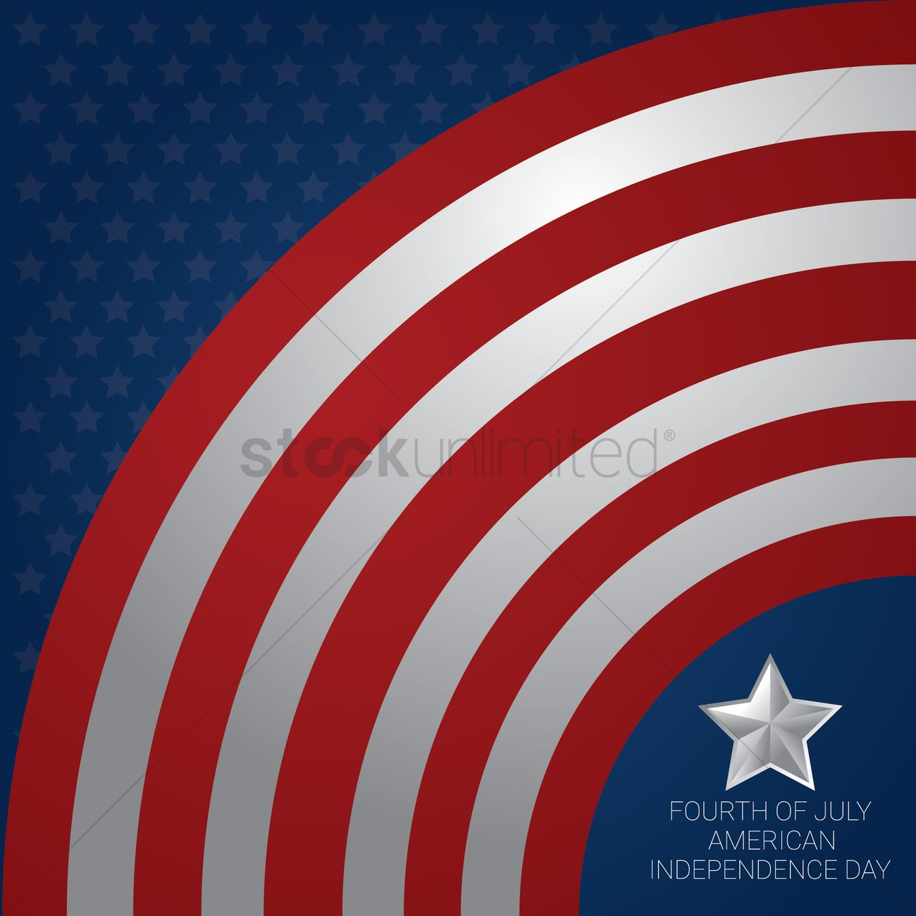 Usa independence day Vector Image - 1557291 | StockUnlimited