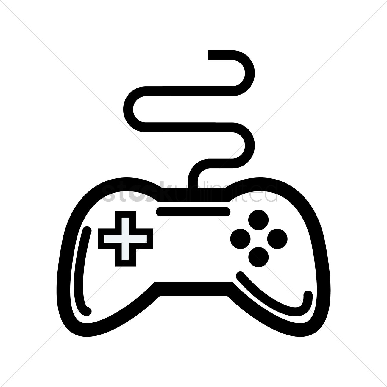 29+ Game Controller Vector Black And White Background