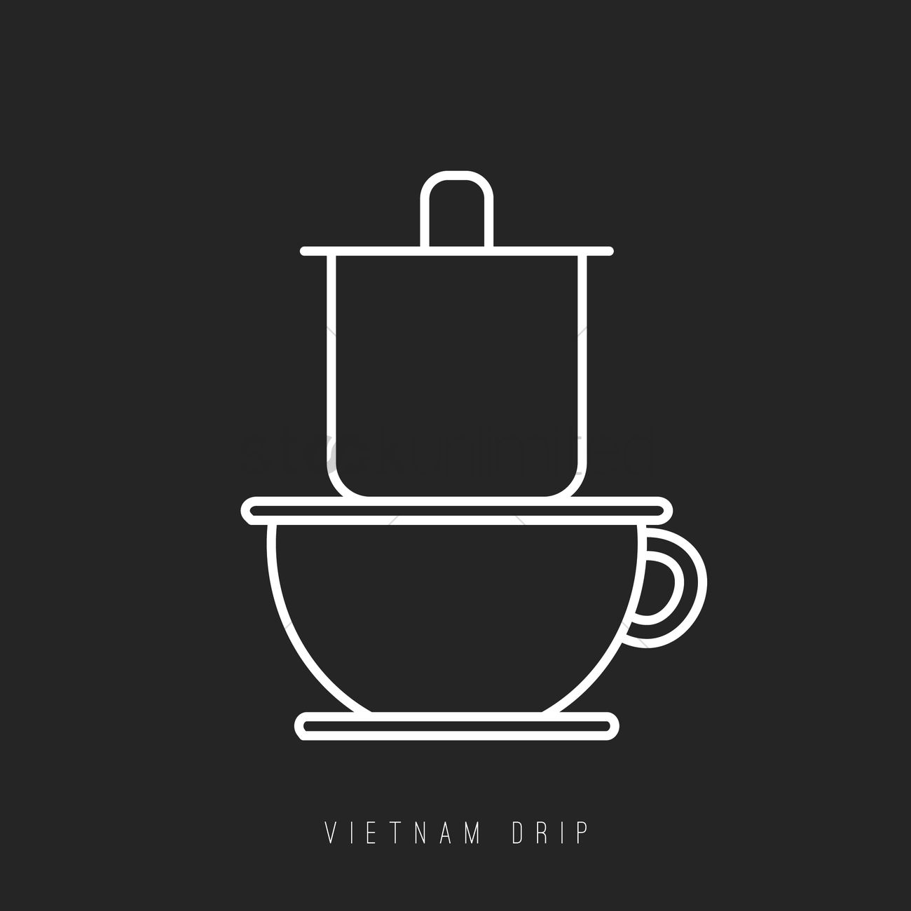 Vietnam Drip Vector Image 1995187 Stockunlimited