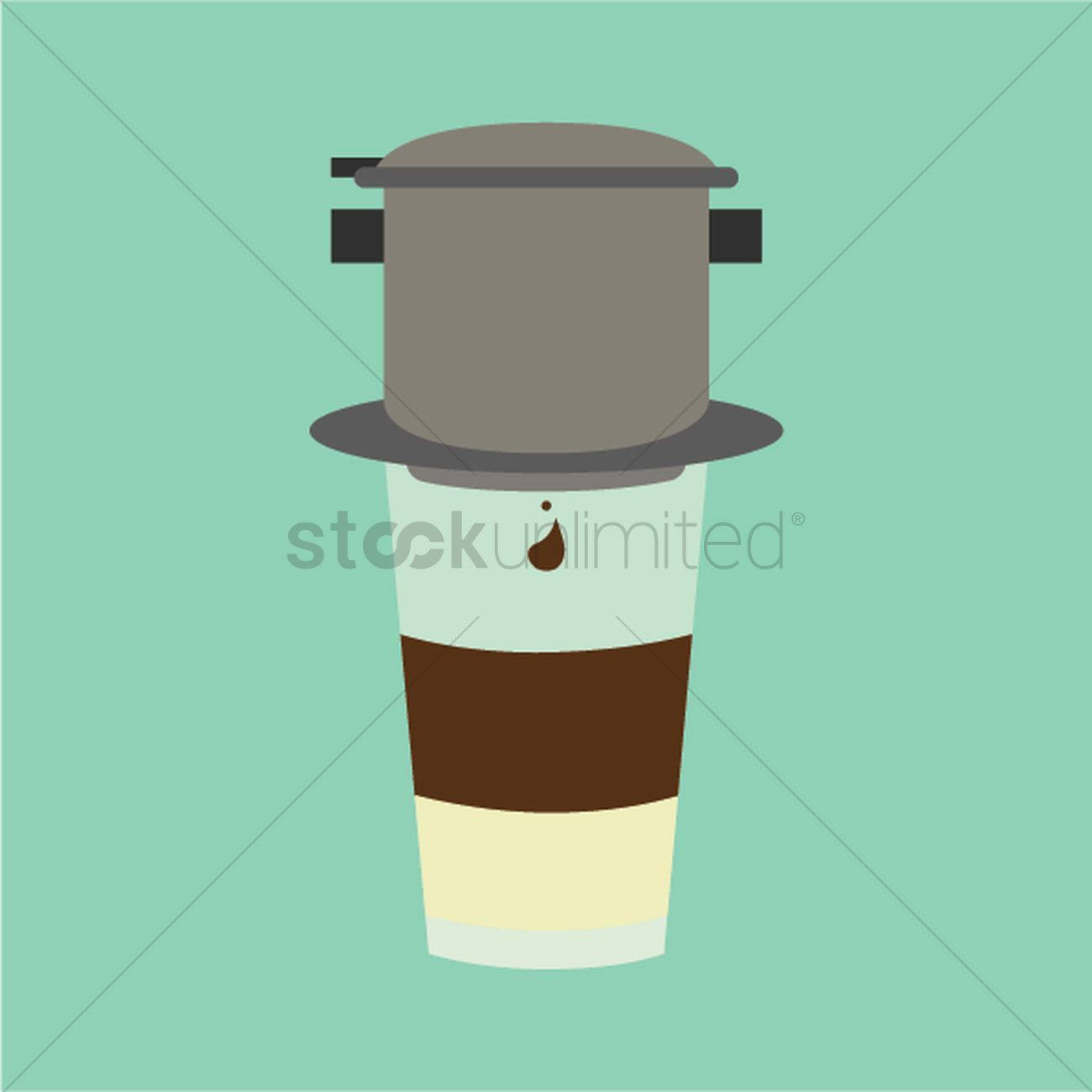 Vietnamese Coffee Vector Image 1532663 Stockunlimited
