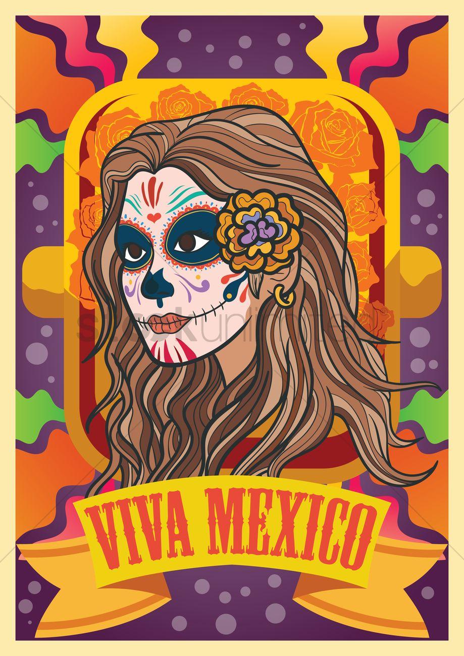 Viva mexico design Vector Image - 1981519 | StockUnlimited
