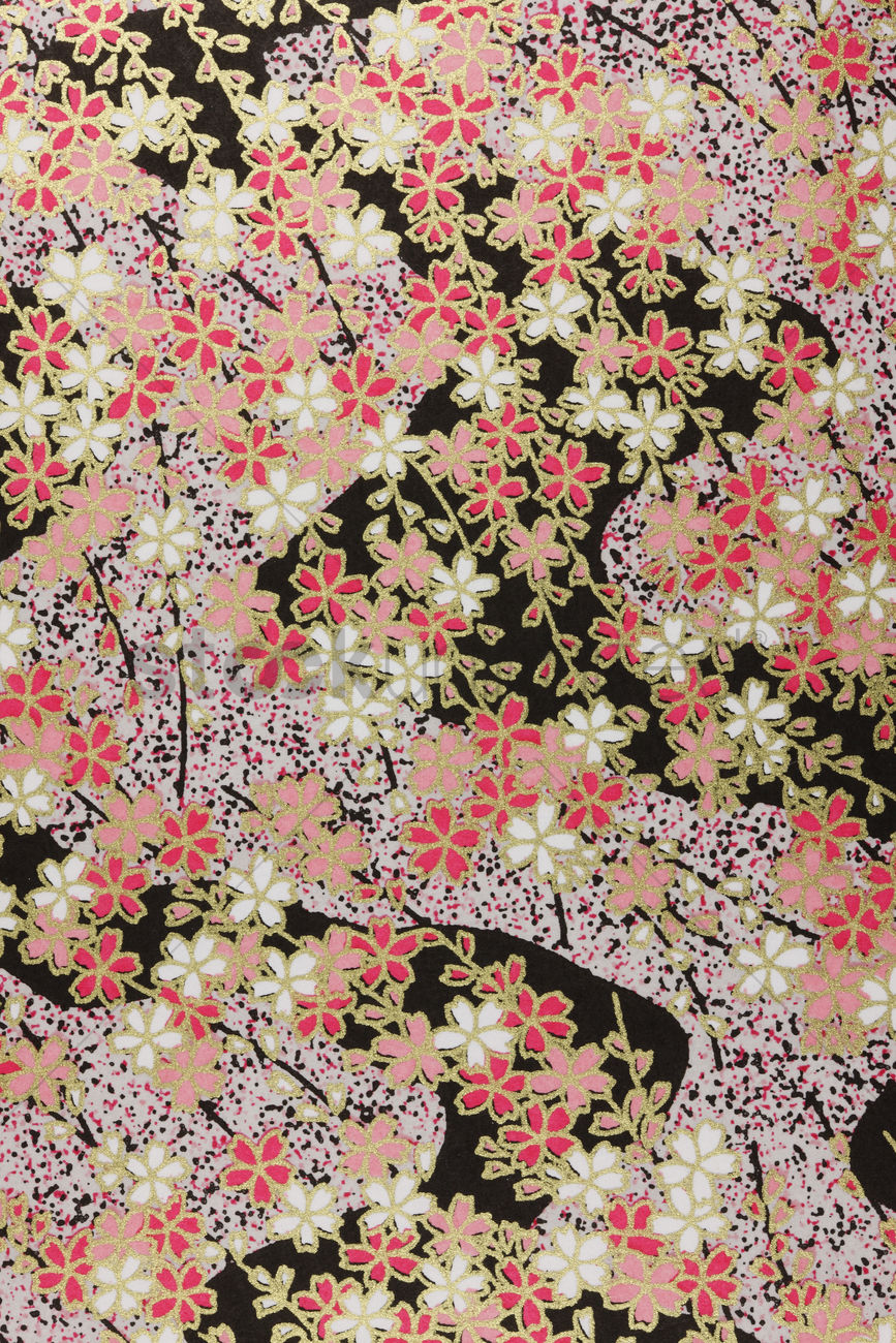 Wallpaper In Japanese Style Stock Photo 2046843 Stockunlimited