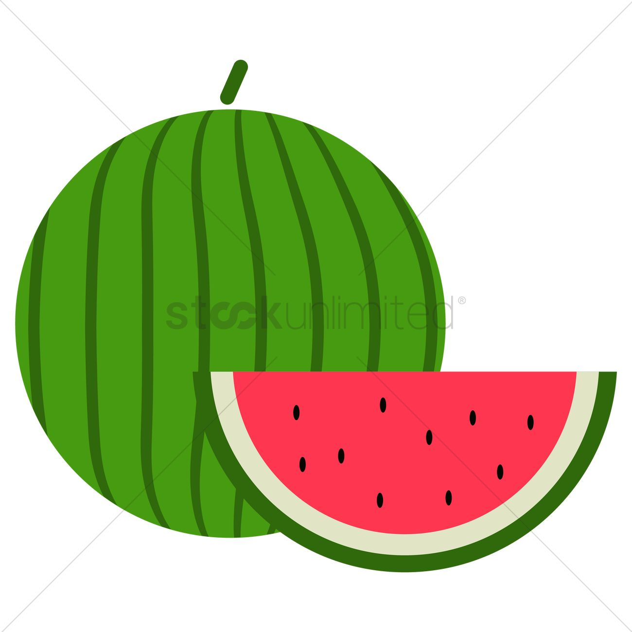 free watermelon vector image 1271171 stockunlimited rh stockunlimited com watermelon vector art watermelon vector background