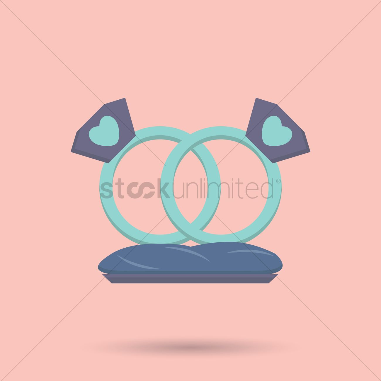 Wedding rings Vector Image - 1337303 | StockUnlimited