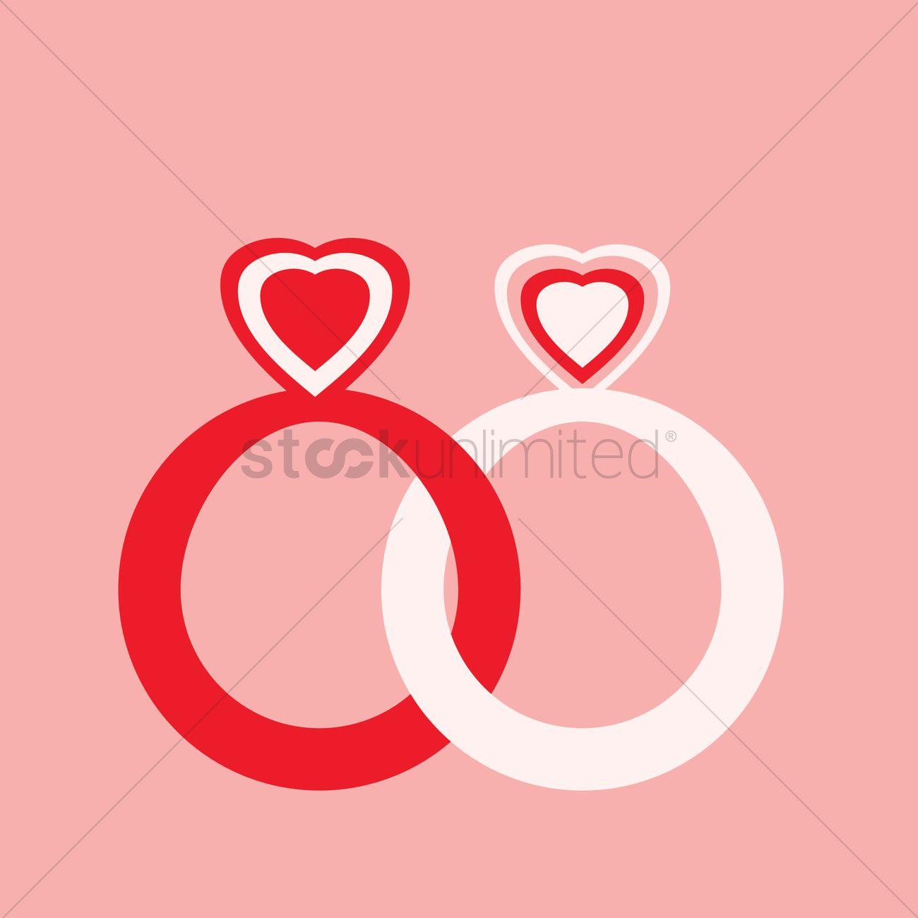 Wedding rings Vector Image - 1492883 | StockUnlimited