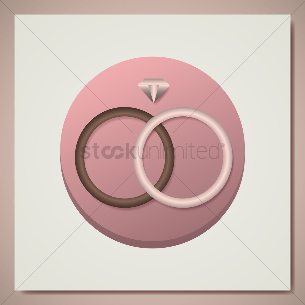 Wedding rings Vector Image - 1604267 | StockUnlimited