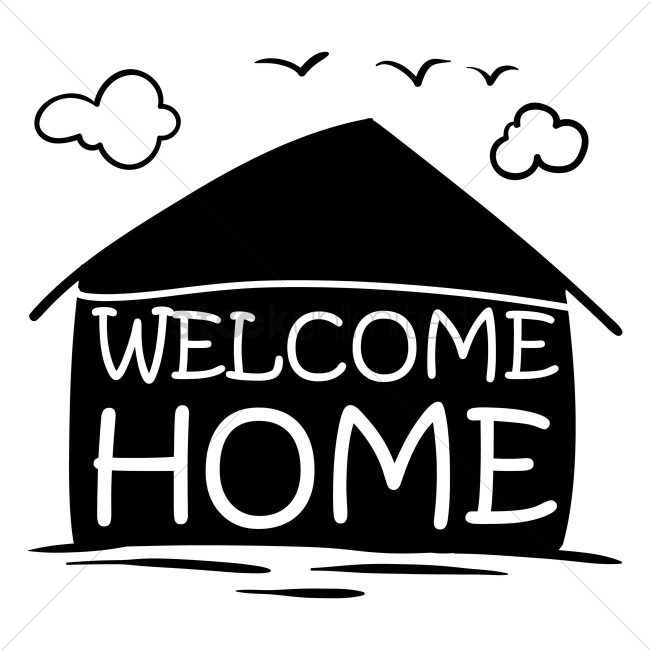 welcome home label vector image 1827351 stockunlimited rh stockunlimited com Welcome Clip Art B Welcome Clip Art B